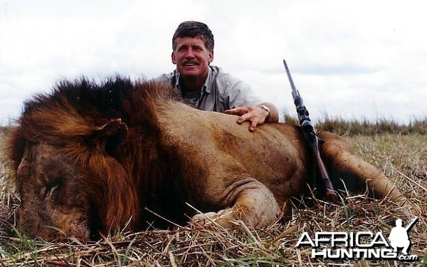 Lion Hunting in Tanzania