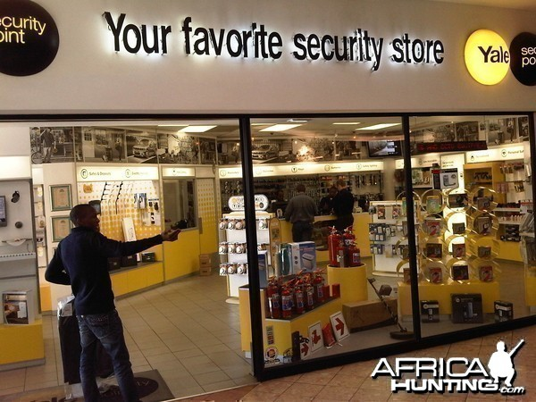 First Store inside the Mall in Joburg