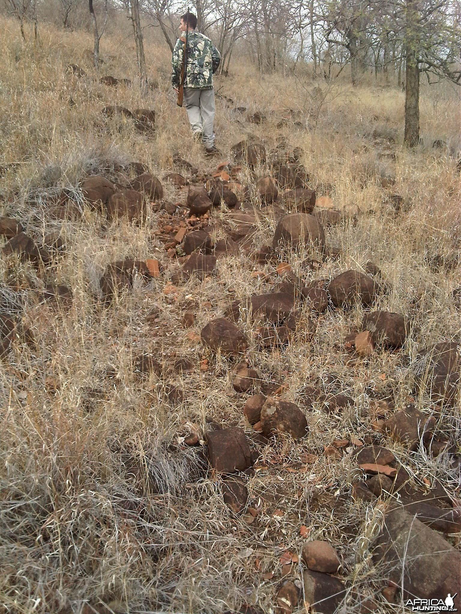 Kudu Mtn. Rocks - Pathway