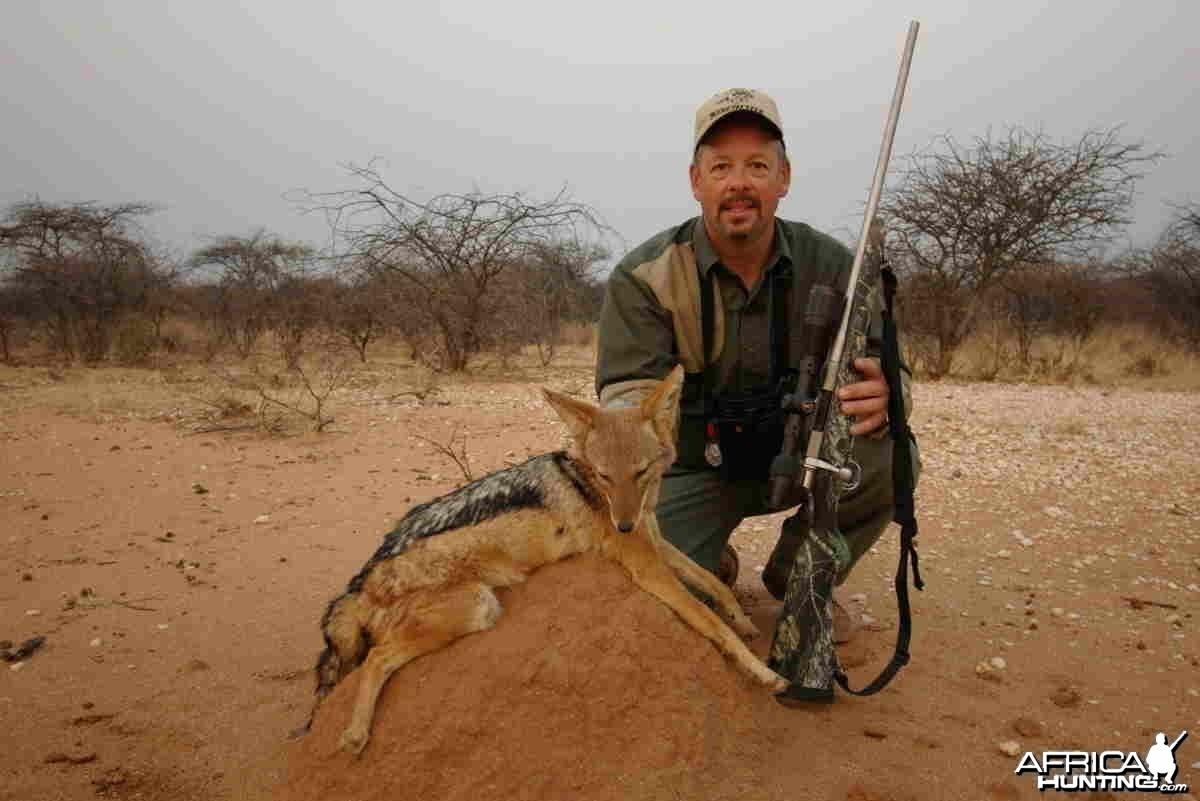 Jackal Hunting in Namibia