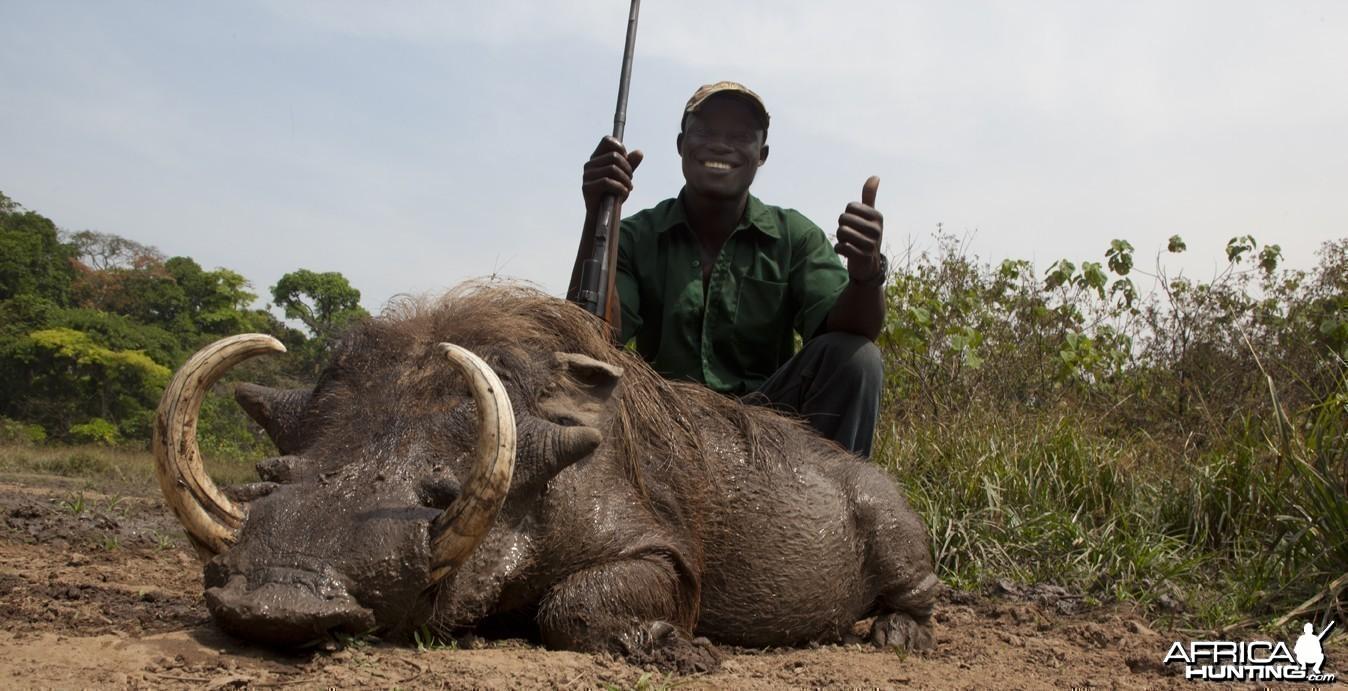 Guy and Warthog