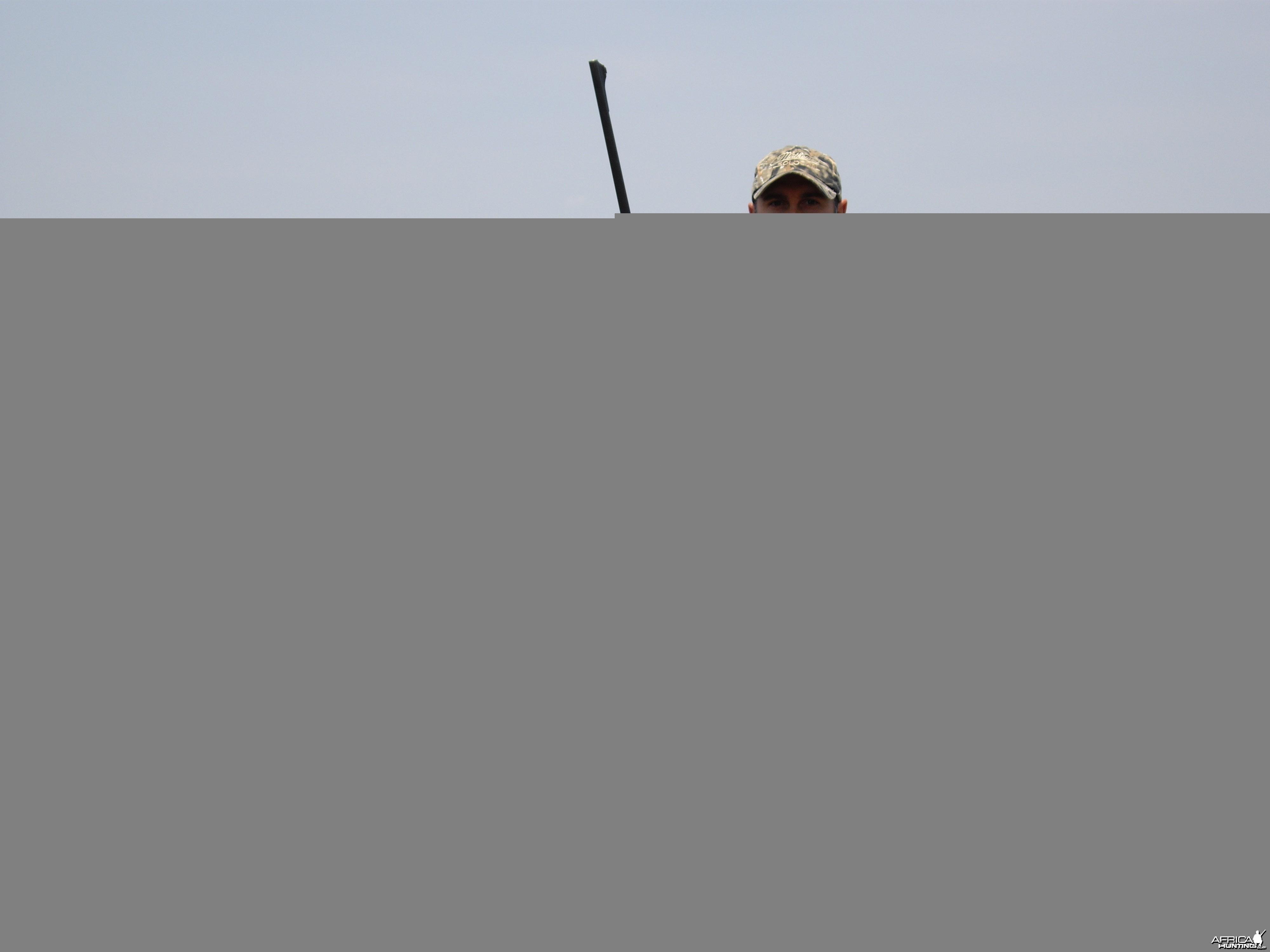 Hunting Burchell's Zebra in Namibia