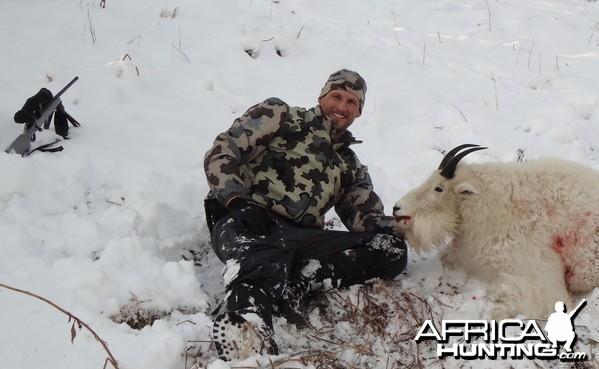 British Columbia Rocky Mountain Goat Hunt