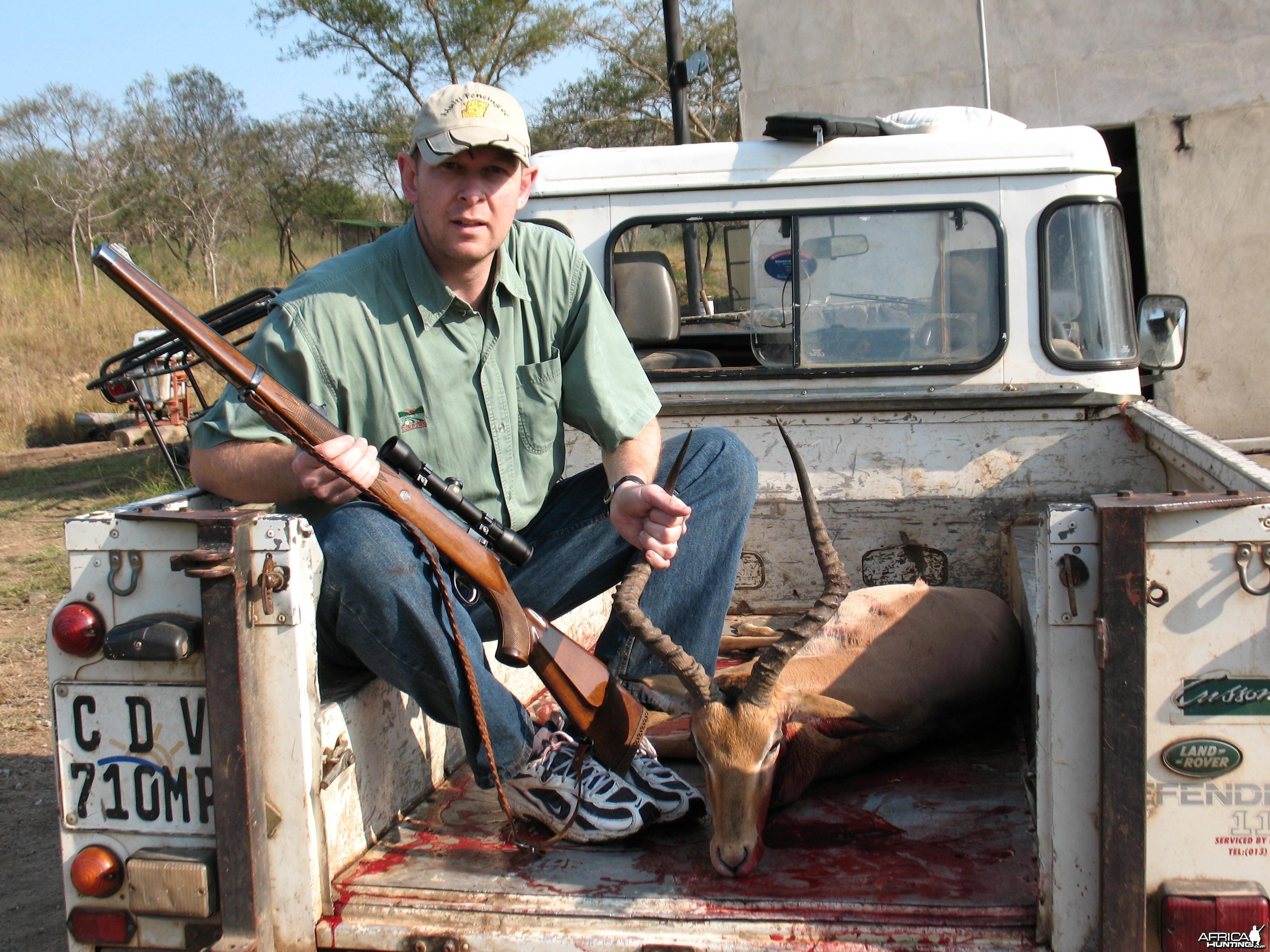Impala taken with a 30.06 Sako, Thanx Goddies!