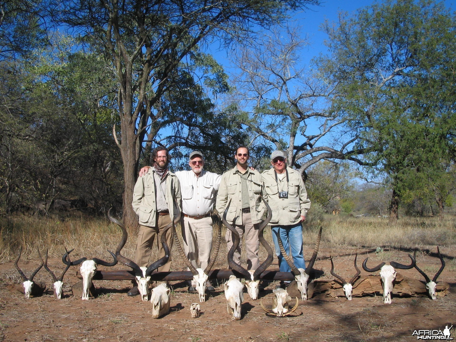 Trophies hunted in Zimbabwe