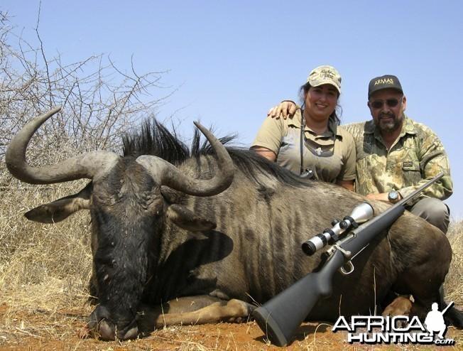 Blue Wildebeest Rem Seven 300 WSM