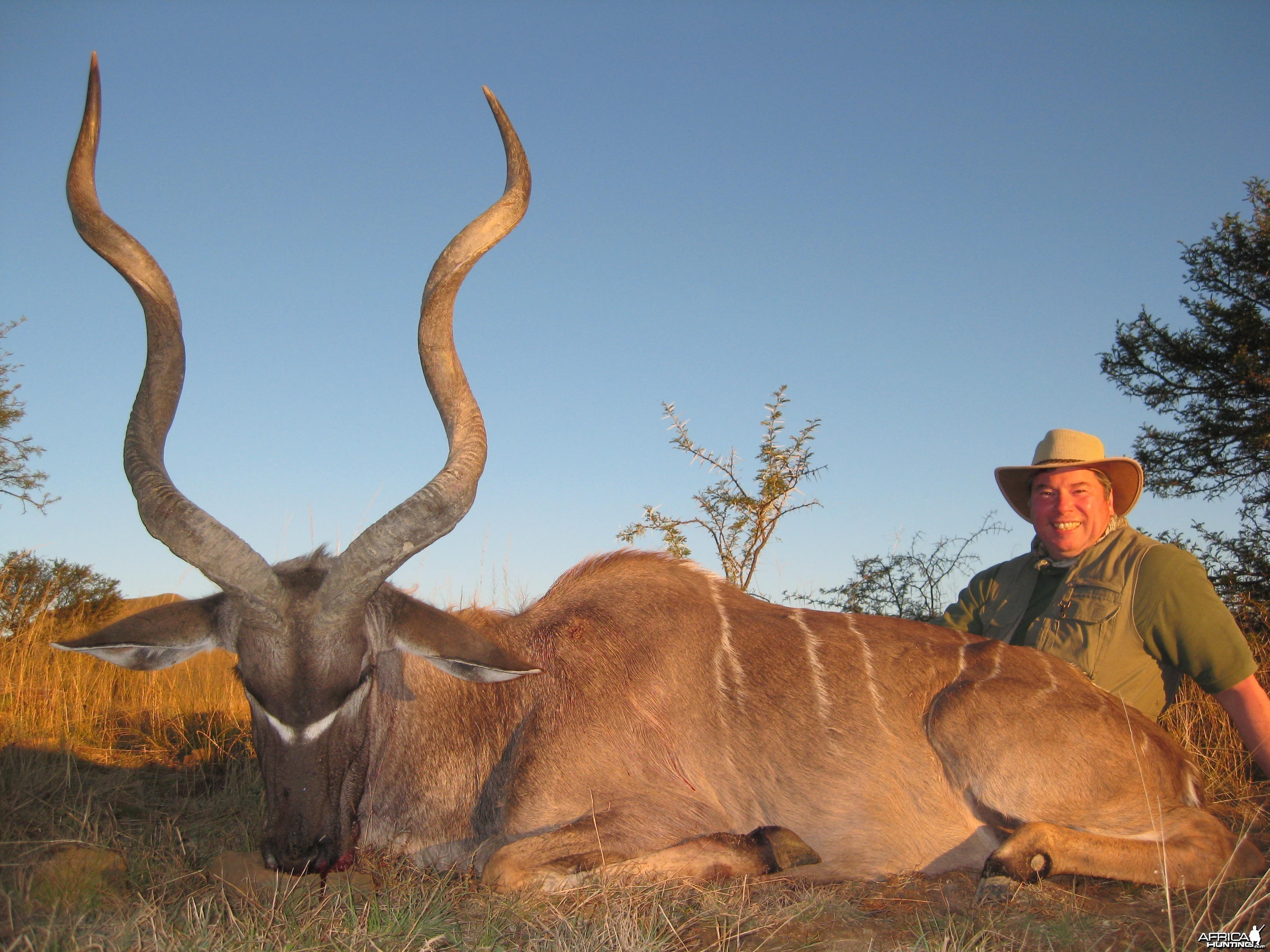Michael J. Storinsky and his Cape Kudu