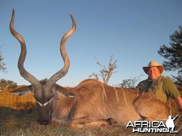 Michael J. Storinsky and his Cape Kudu