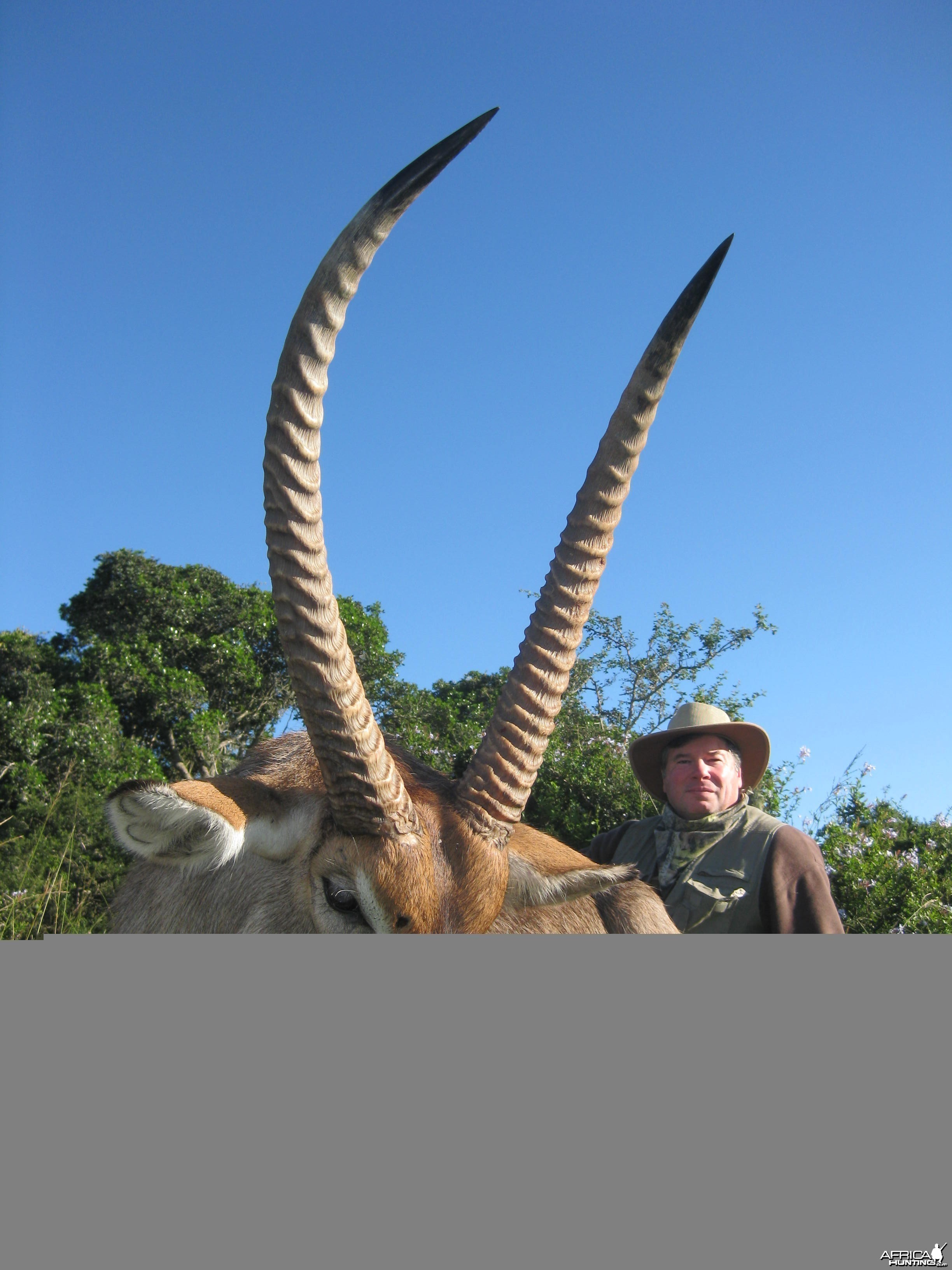 Michael J. Storinsky and his Waterbuck