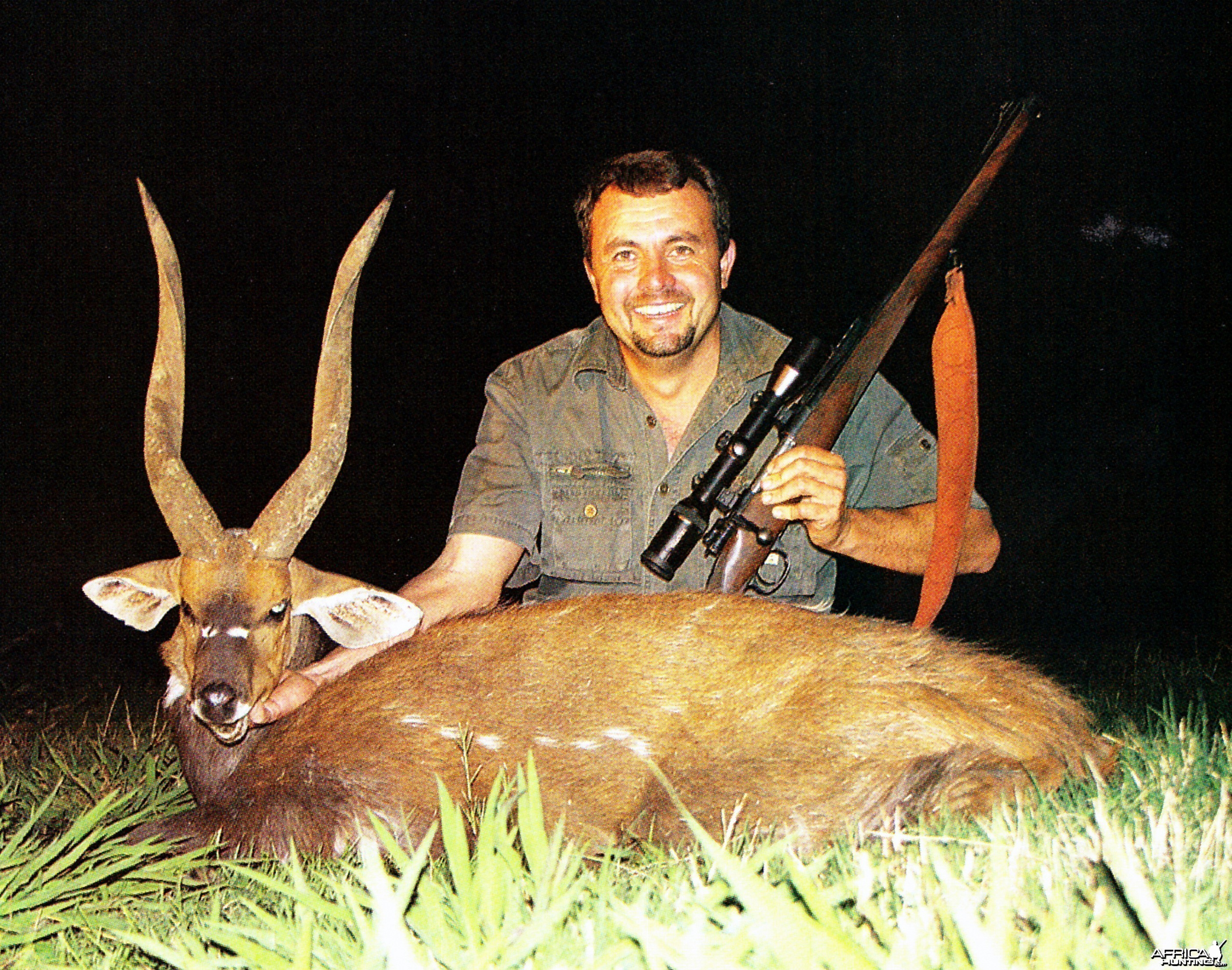 SCI no1 Bushbuck taken by Pieter Lamprecht 20 7/8""
