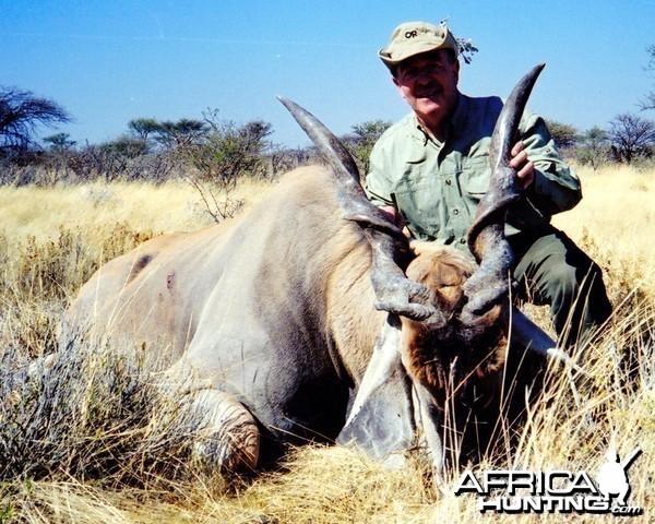 "46 "" Cape Eland taken in Namibia 2000"