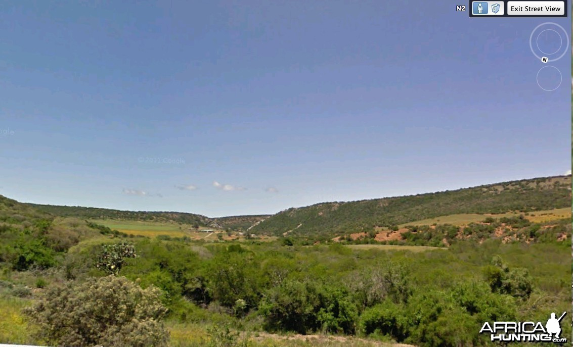 Near Grahamstown East Cape