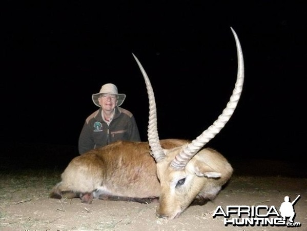Red Lechwe hunted with Hartzview Hunting Safaris