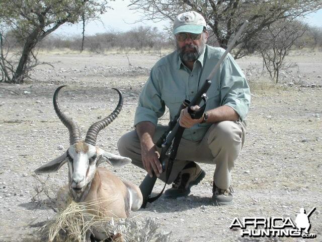Springbok Hunting in Namibia