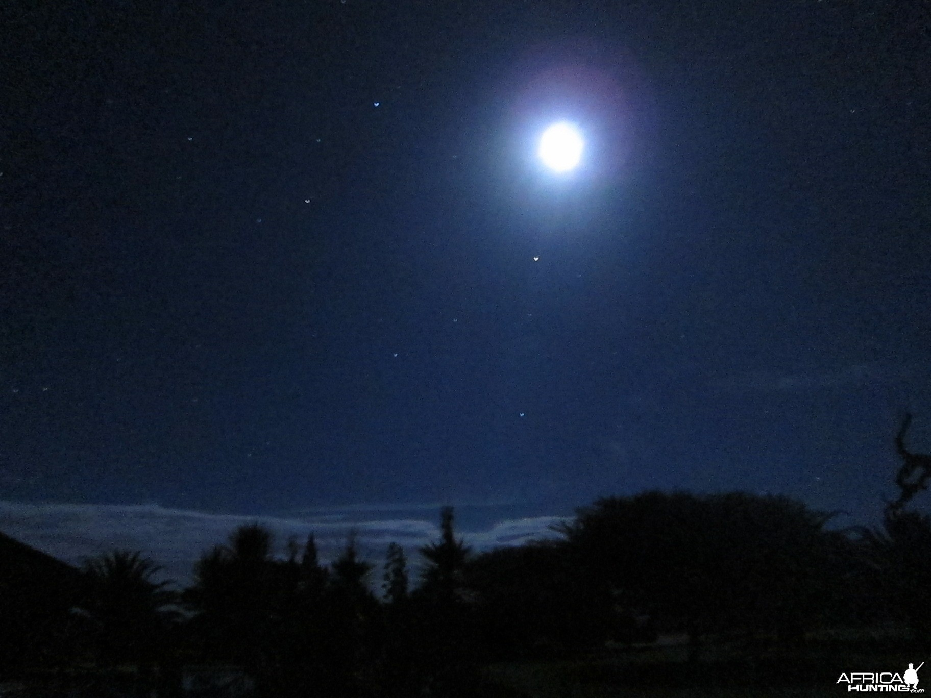 At Night in Namibia
