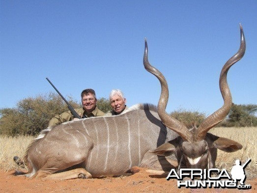 Namibia Greater Kudu