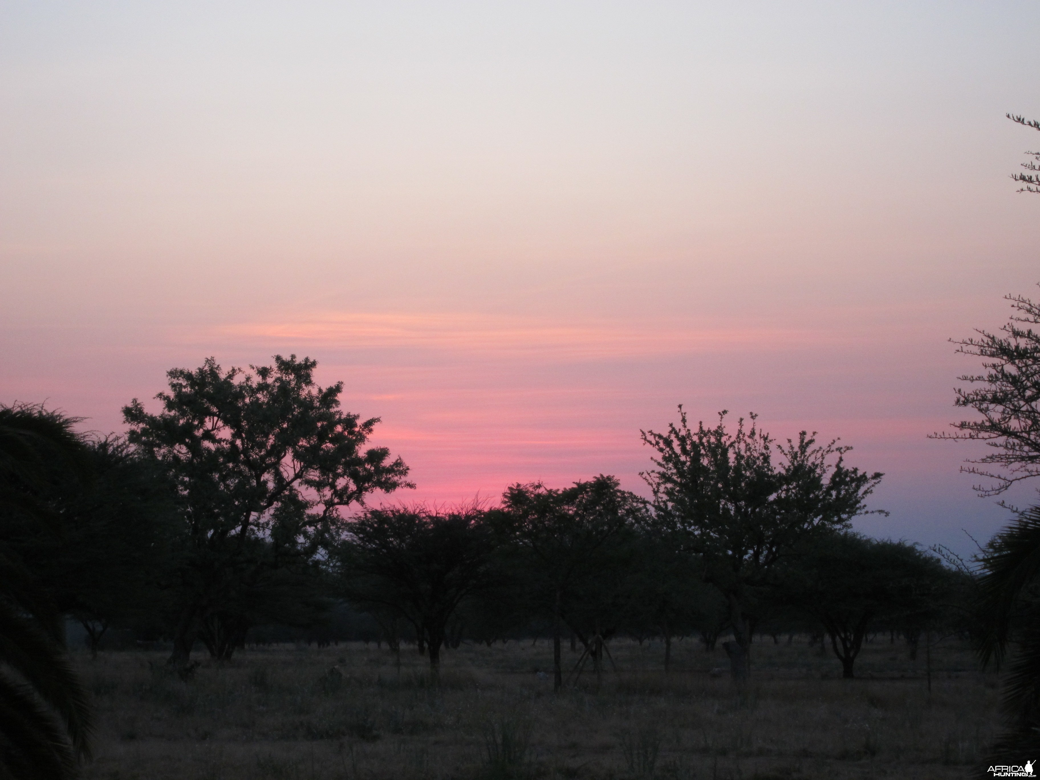 Sunset Namibia