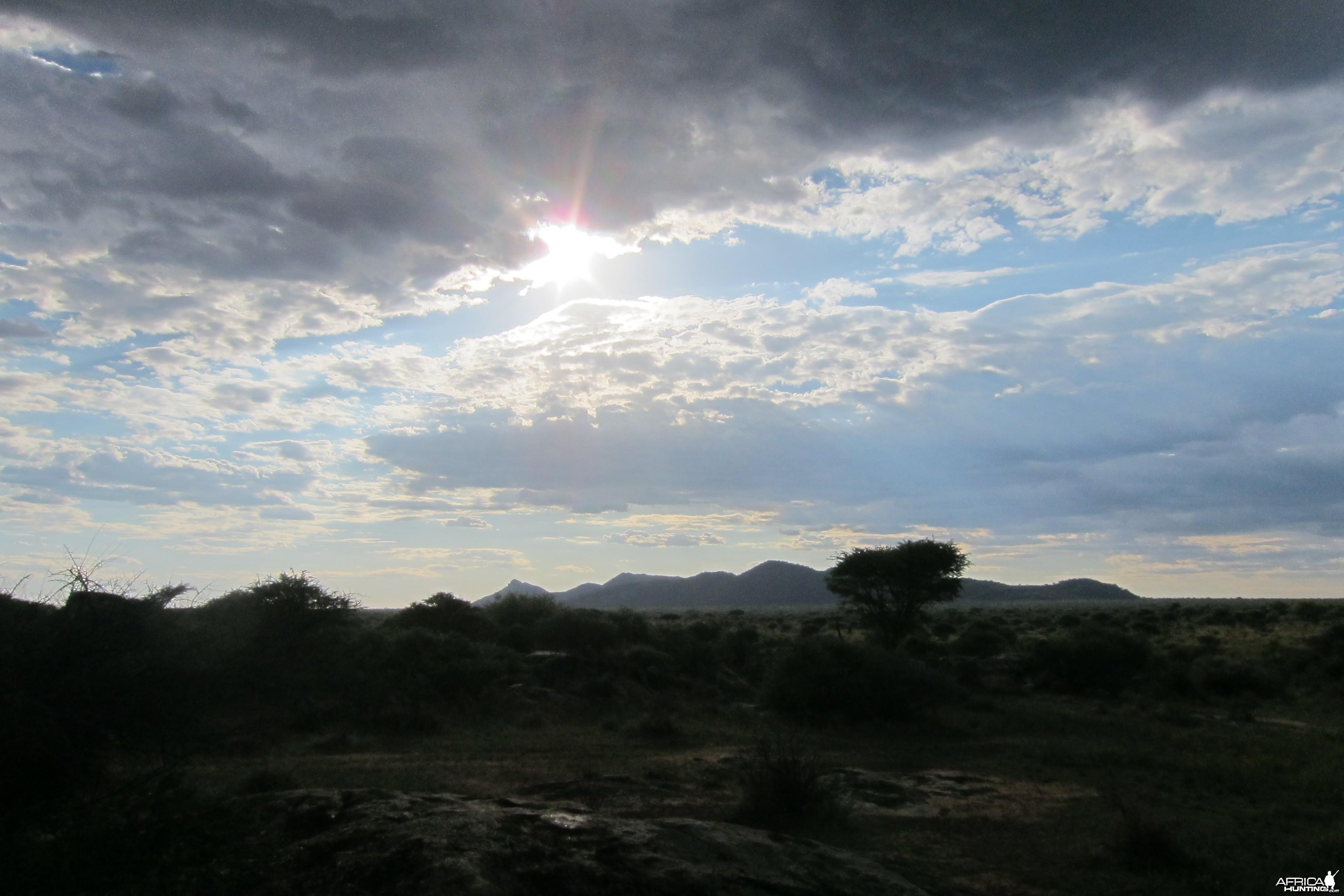 Ozondjahe Mountain Namibia