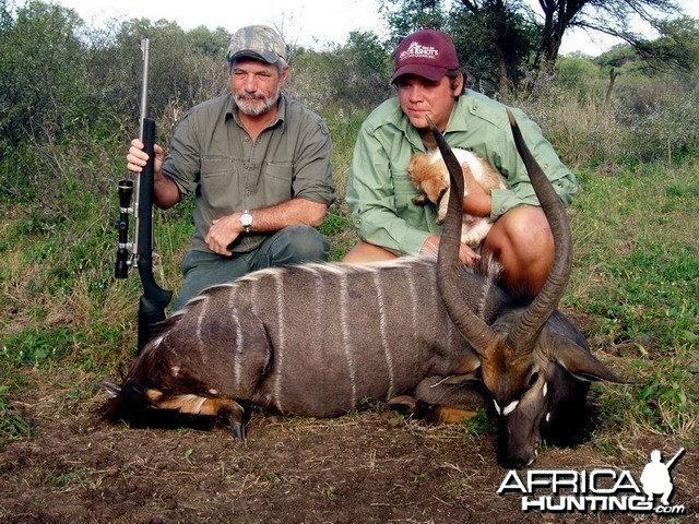 Nyala taken with Jaco Strauss