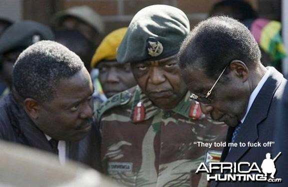 Robert Gabriel Mugabe President of Zimbabwe