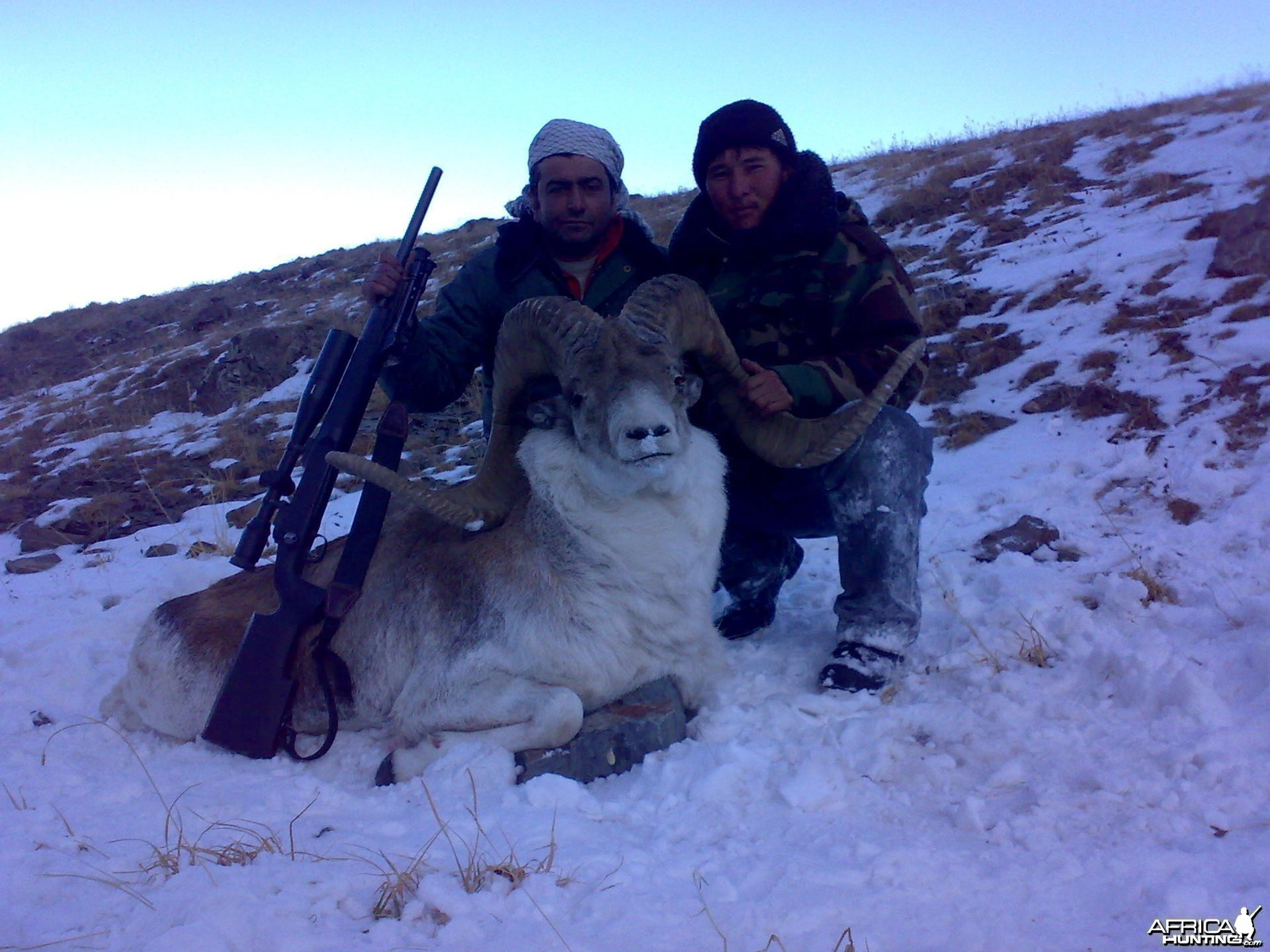 Hunting Marco Polo Sheep in Kyrgyzstan