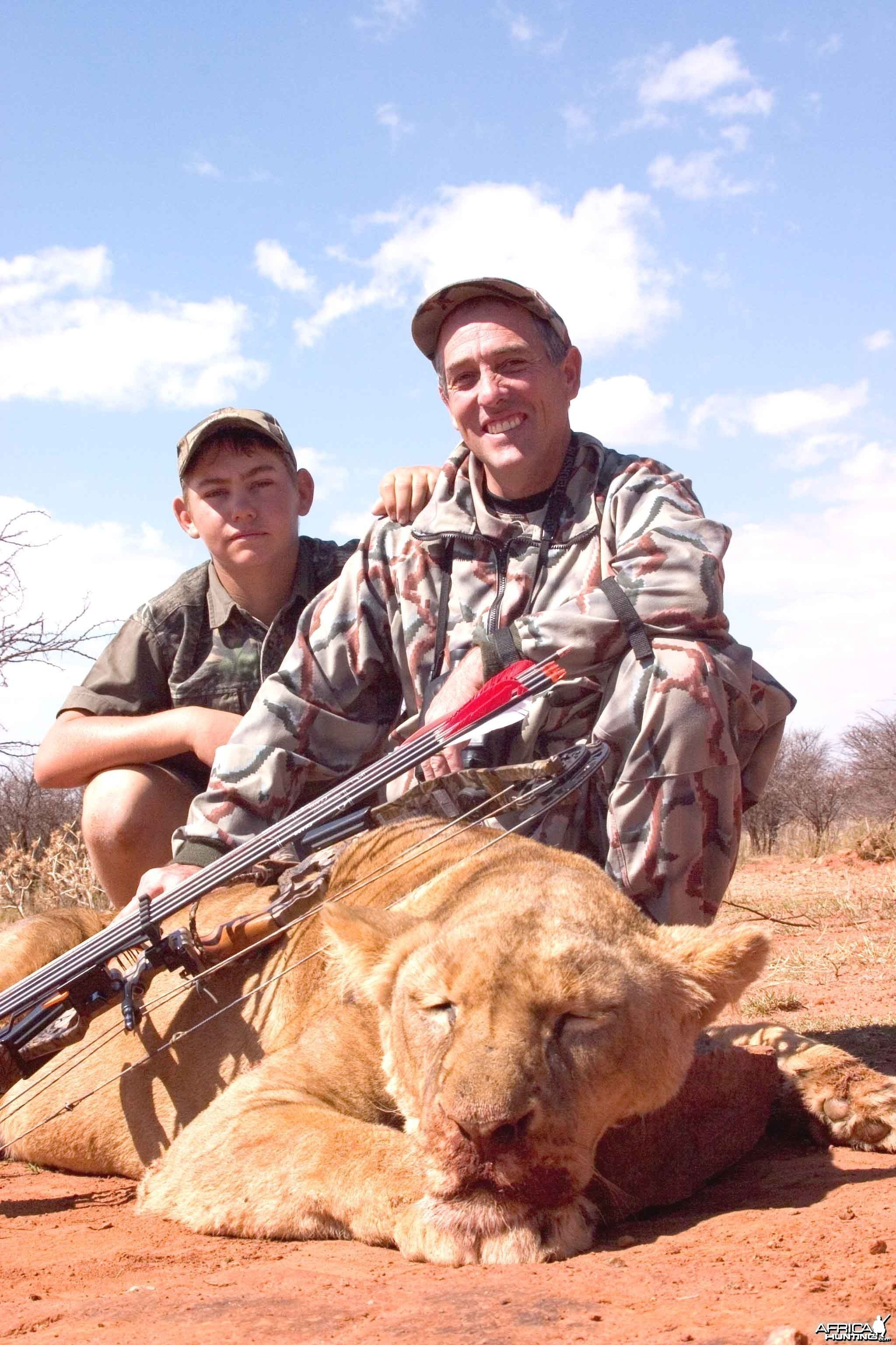 Lioness-Free State, RSA