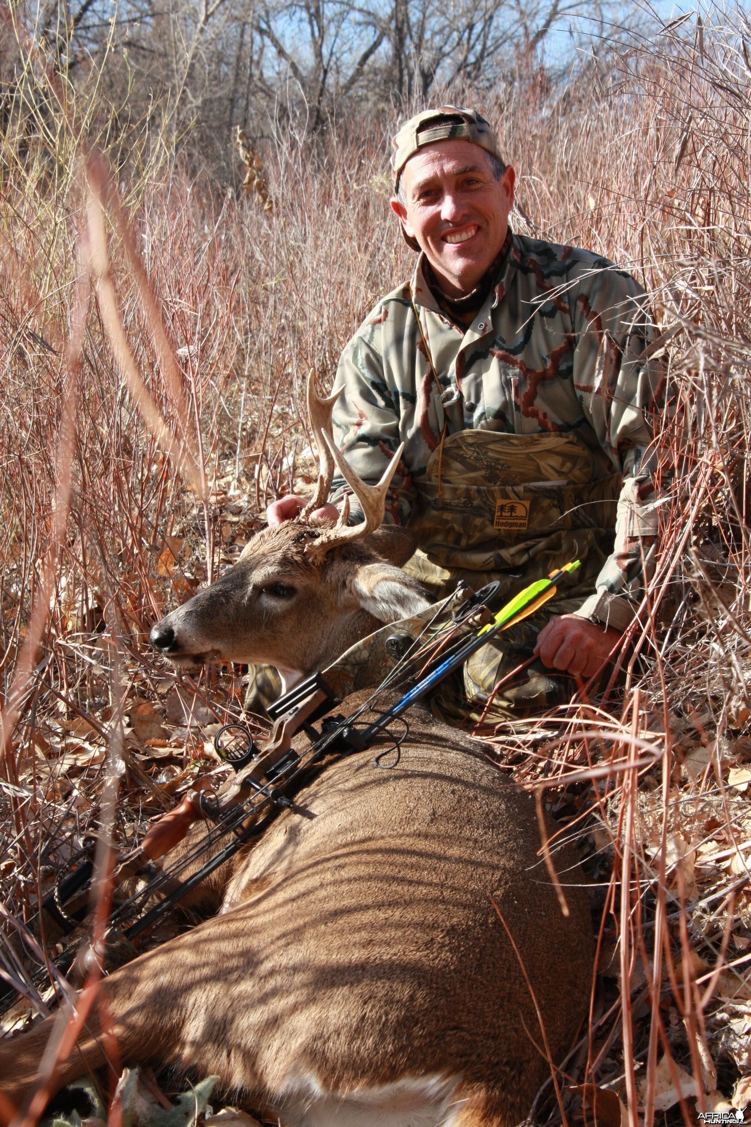 A rare Colorado frontrange White-tailed deer