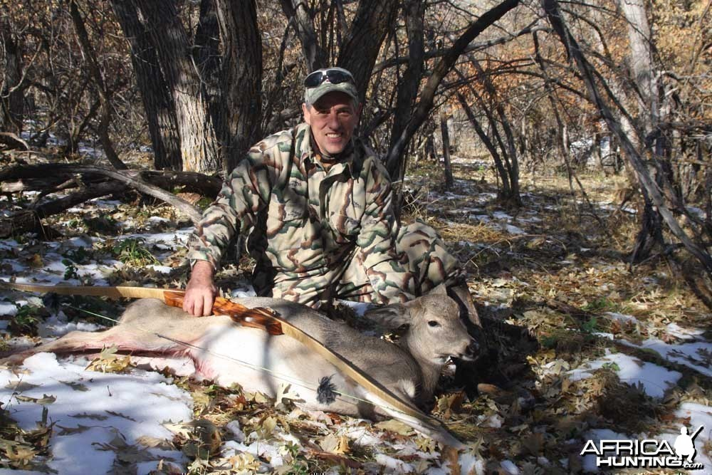 First deer with traditional equipment