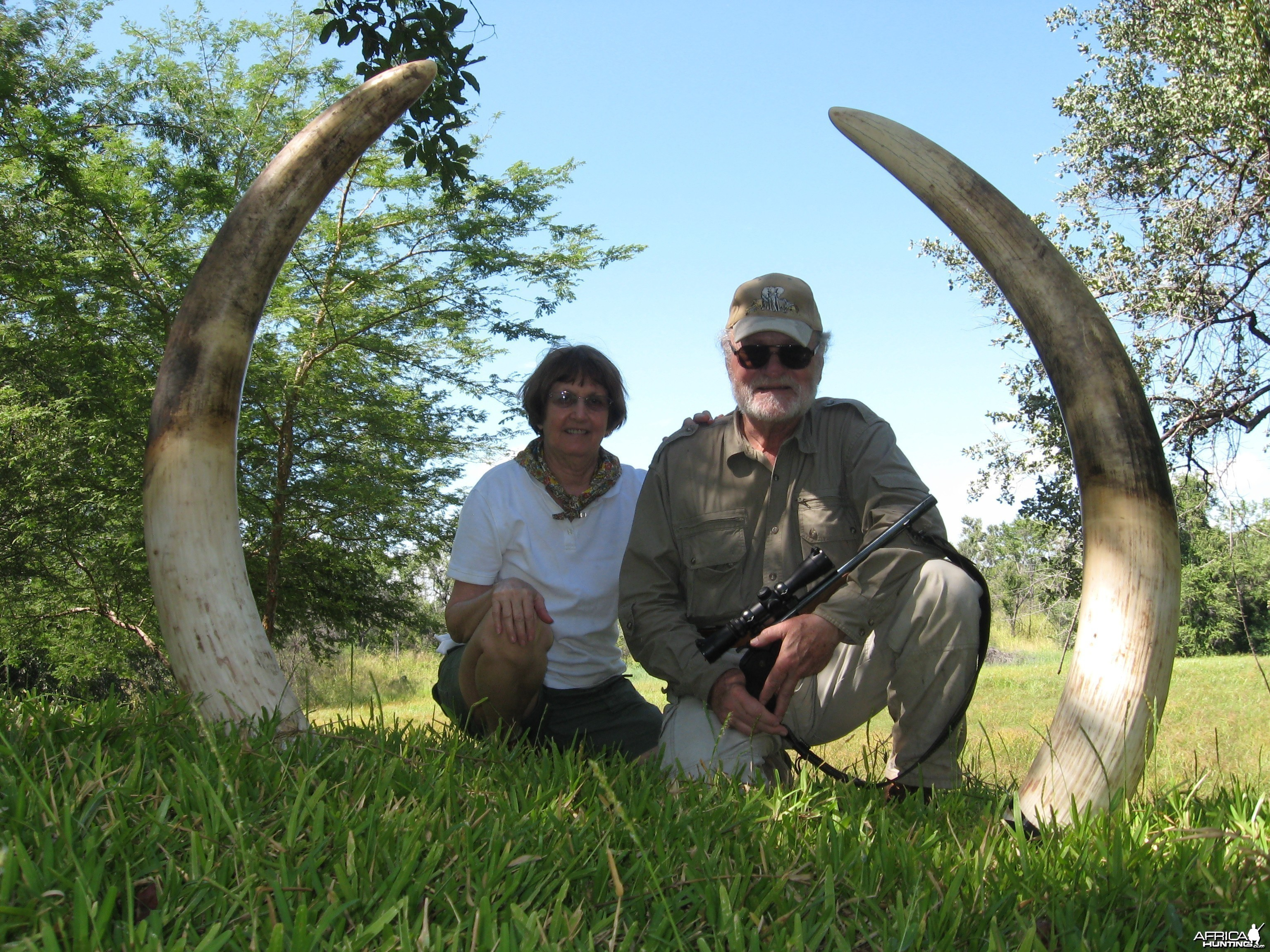tusks while still in zimbabwe