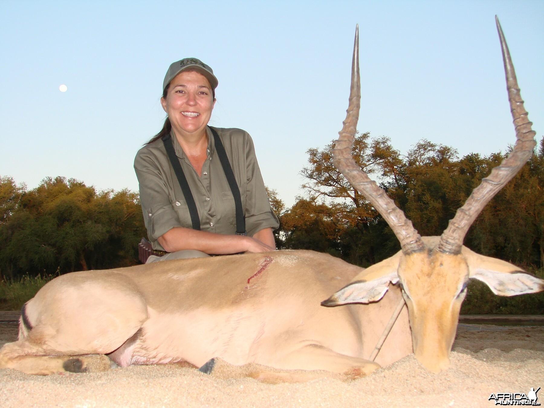 Impala Imbezie Camp, Lowveld of Zimbabwe