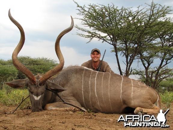 Hunting Kudu Namibia