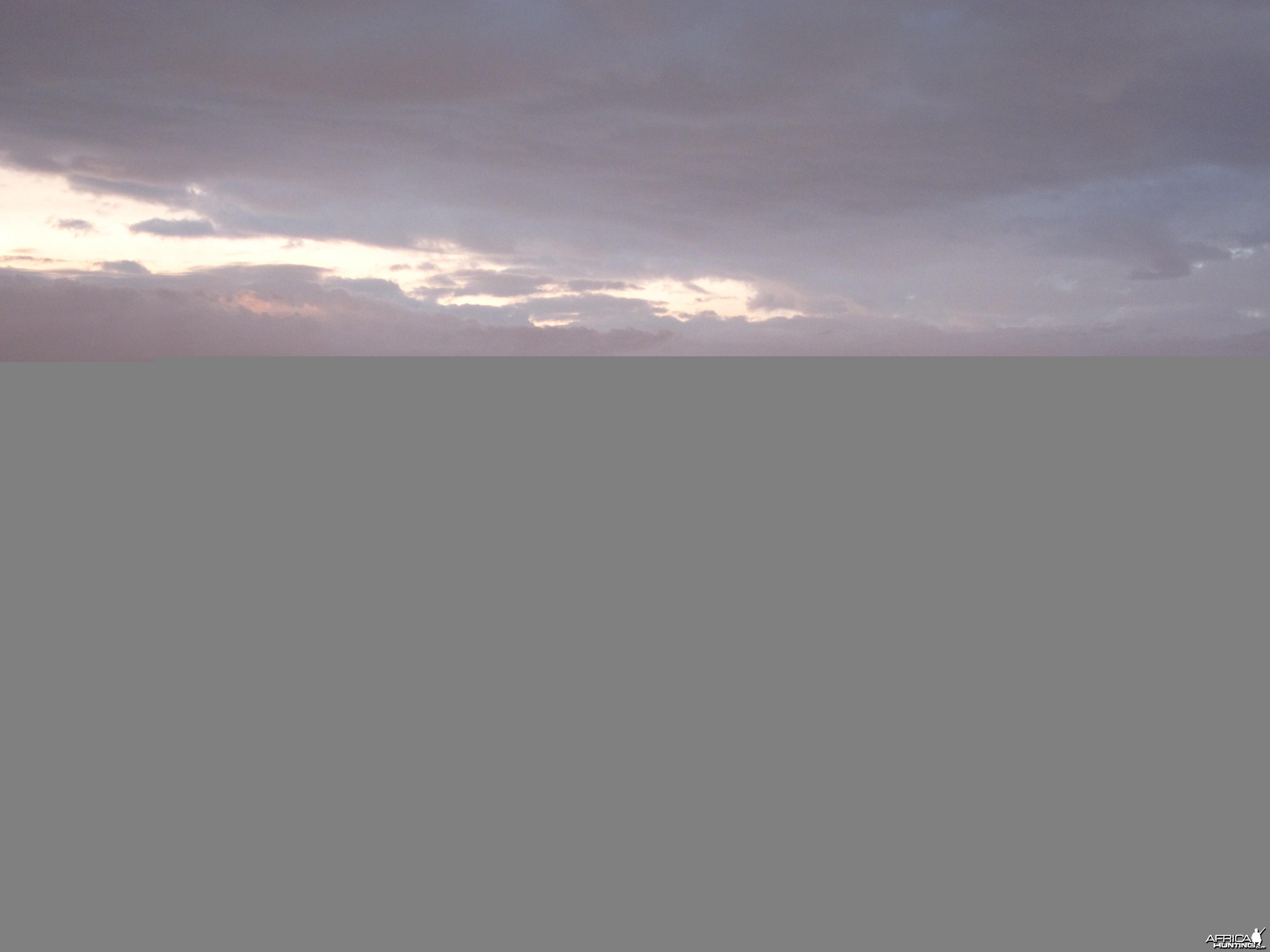 Sunset Damaraland Namibia