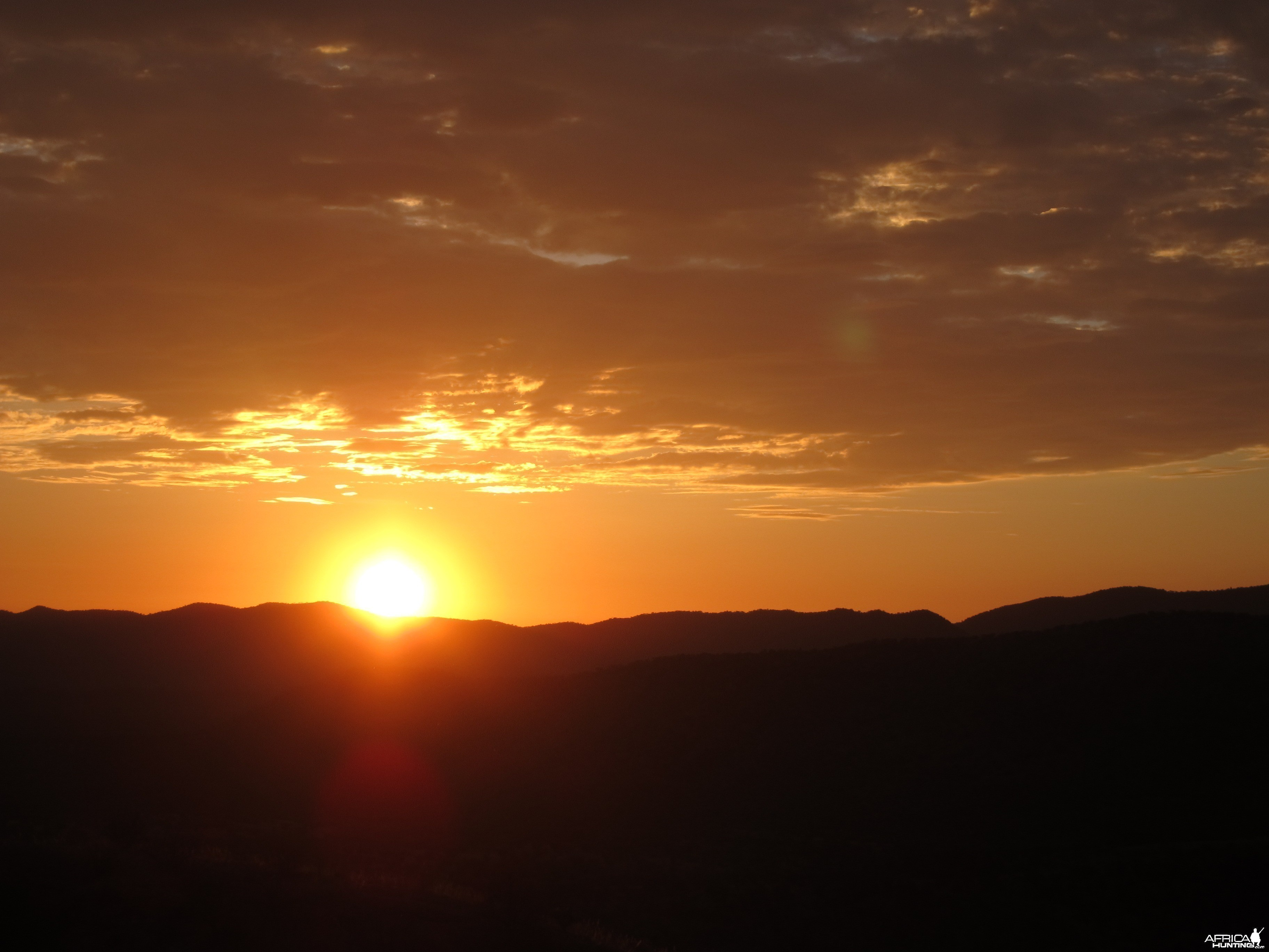Sunset Damaraland Namibia