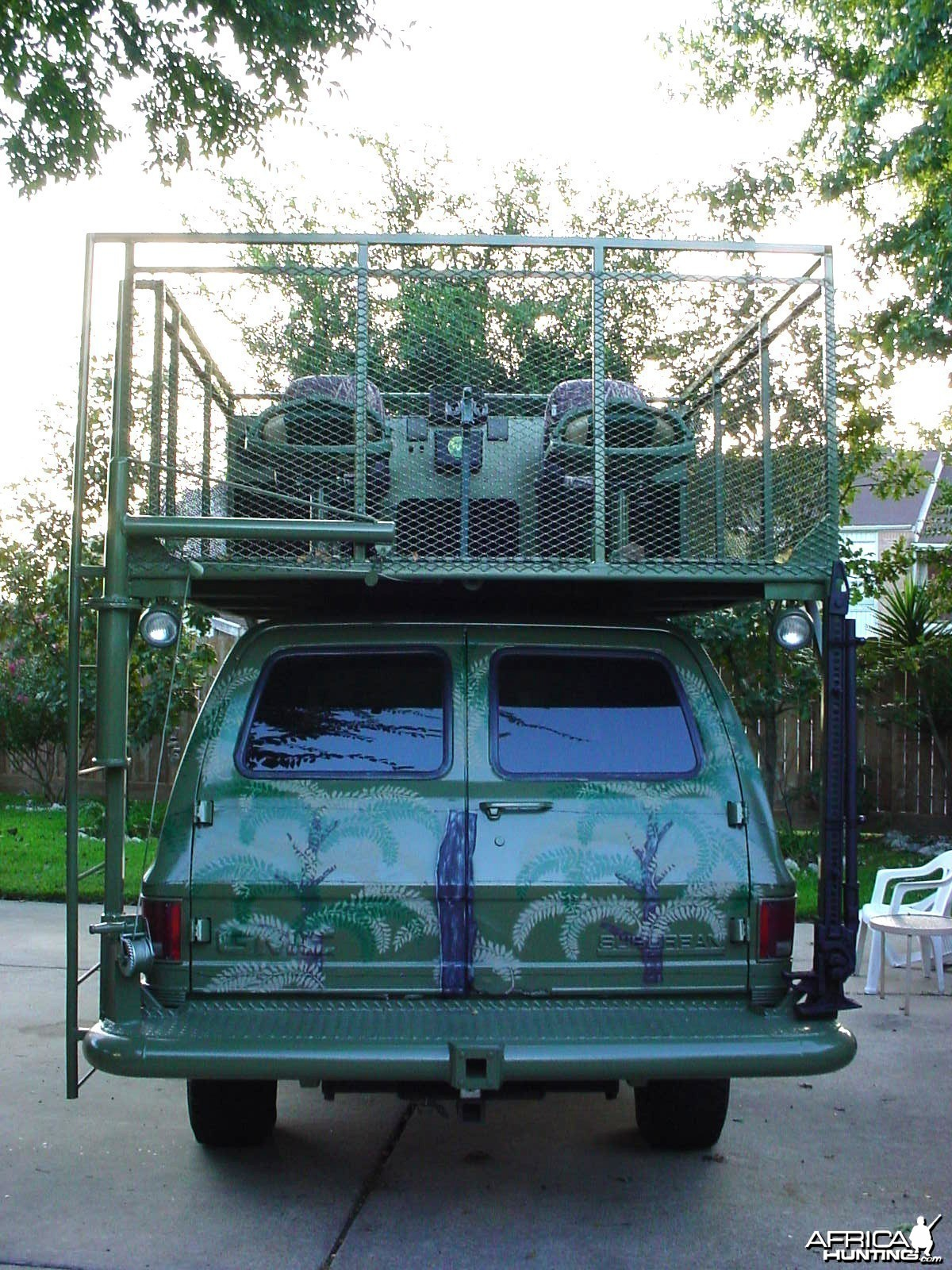 My hunting rig I built myself in 2004