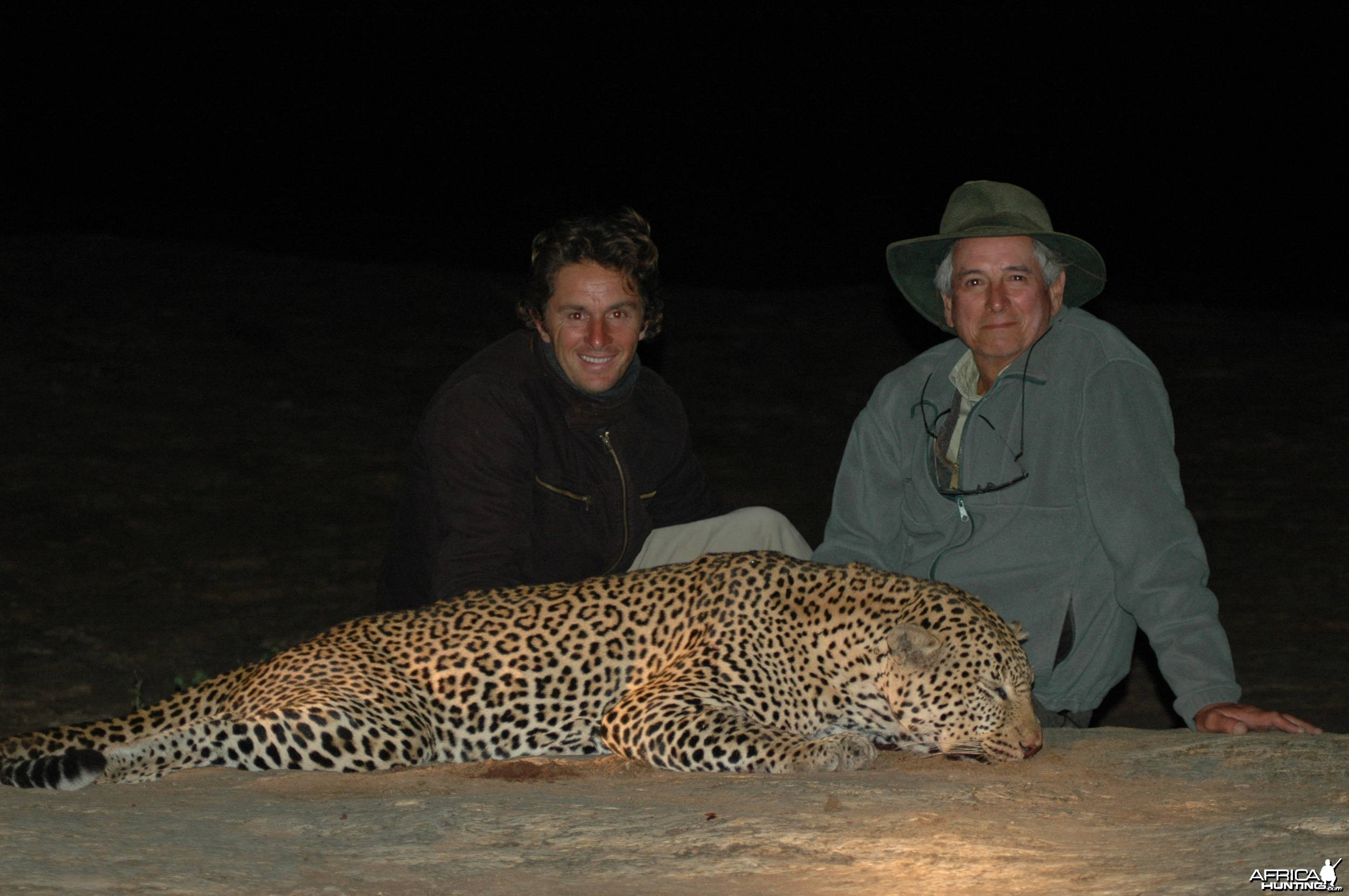 Big Leopard Massai land