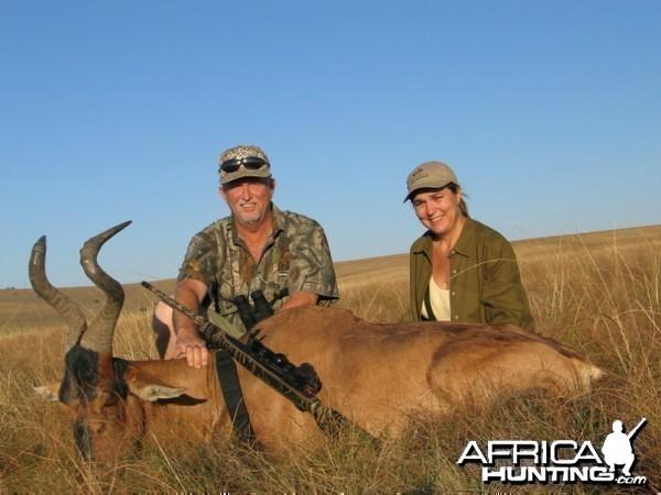 Hartebeest East Cape, SA 2004