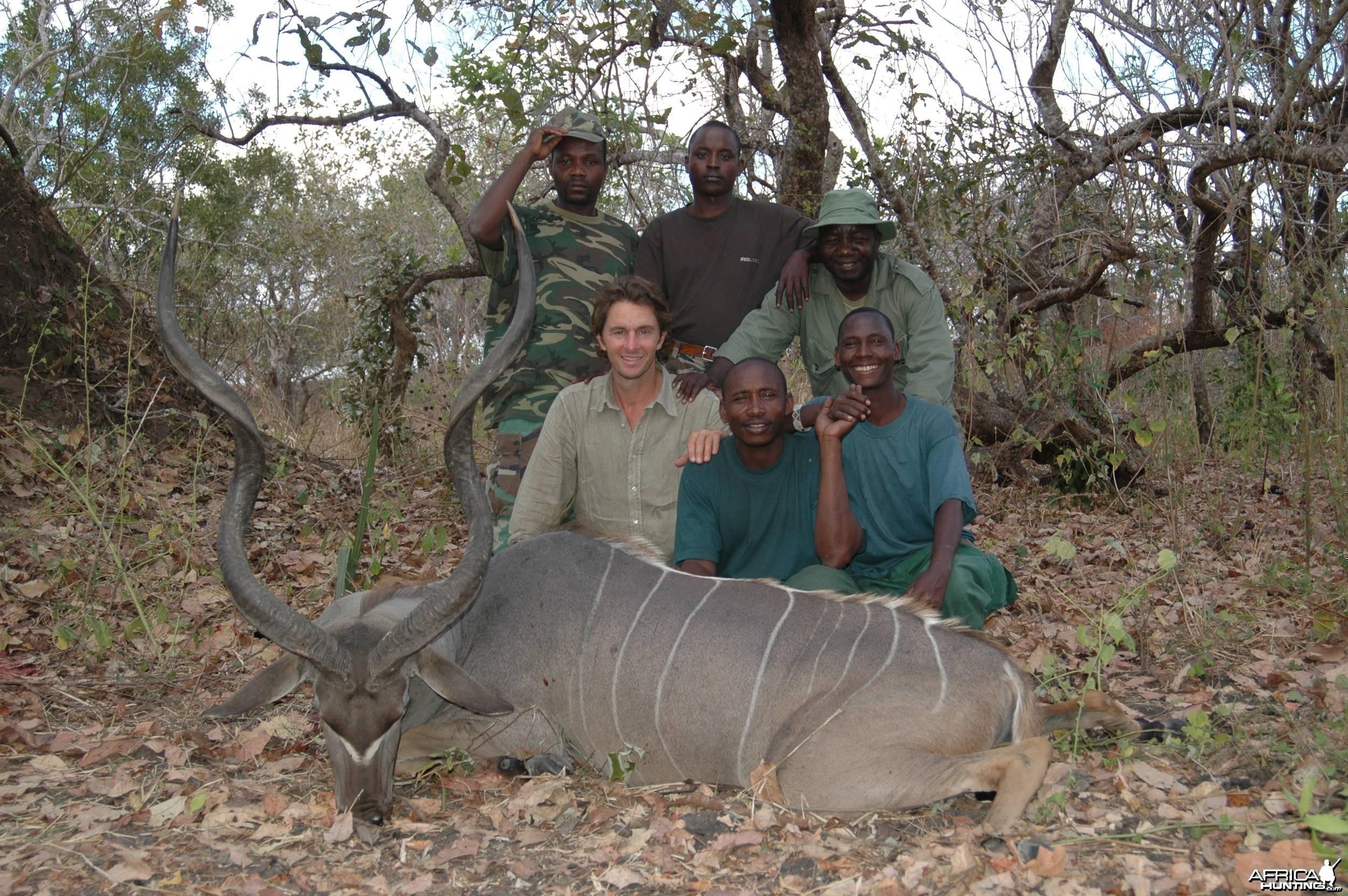 Koudou Selous Chasse Tanzanie