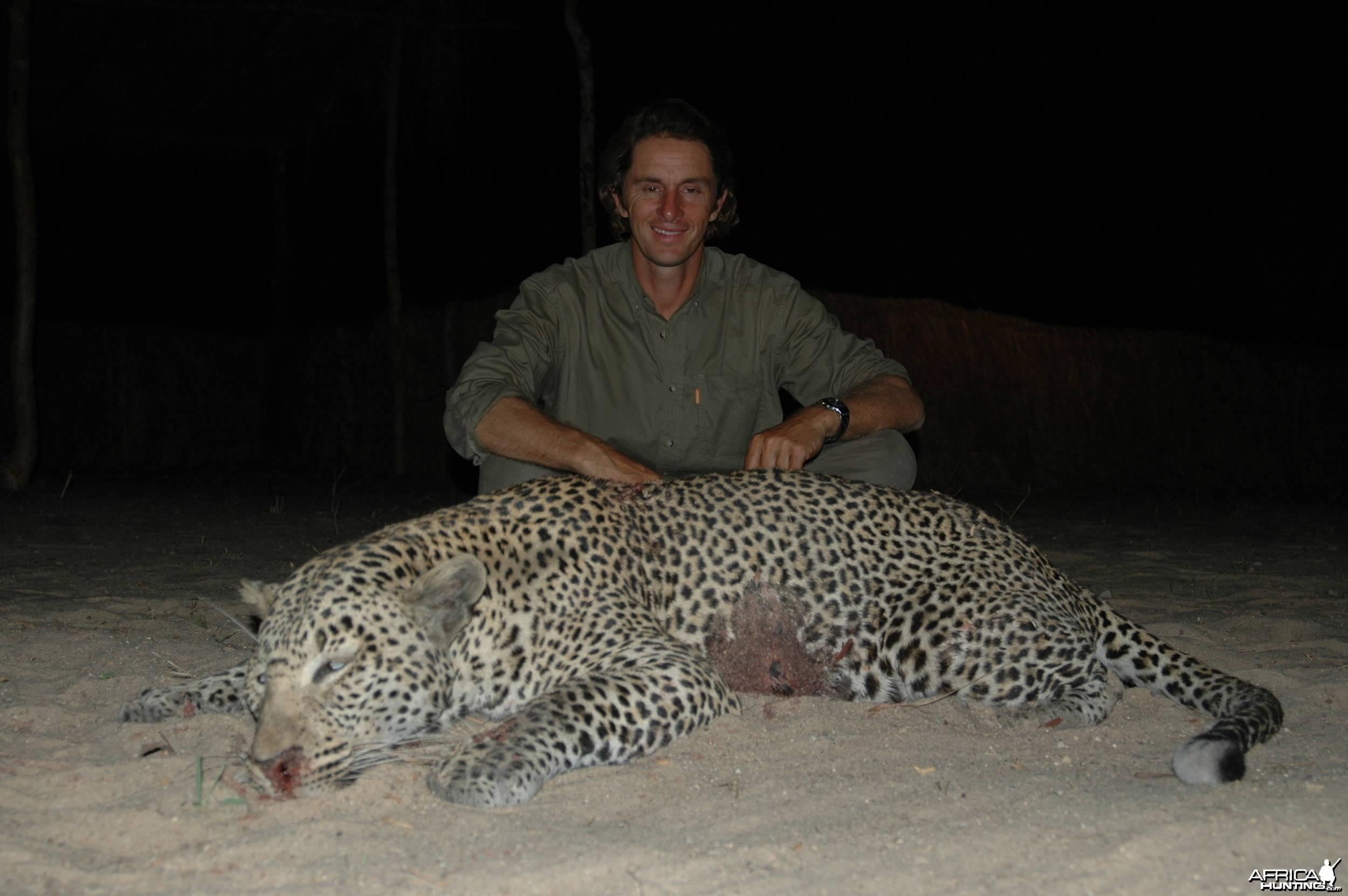 Leopard Tanzania Selous