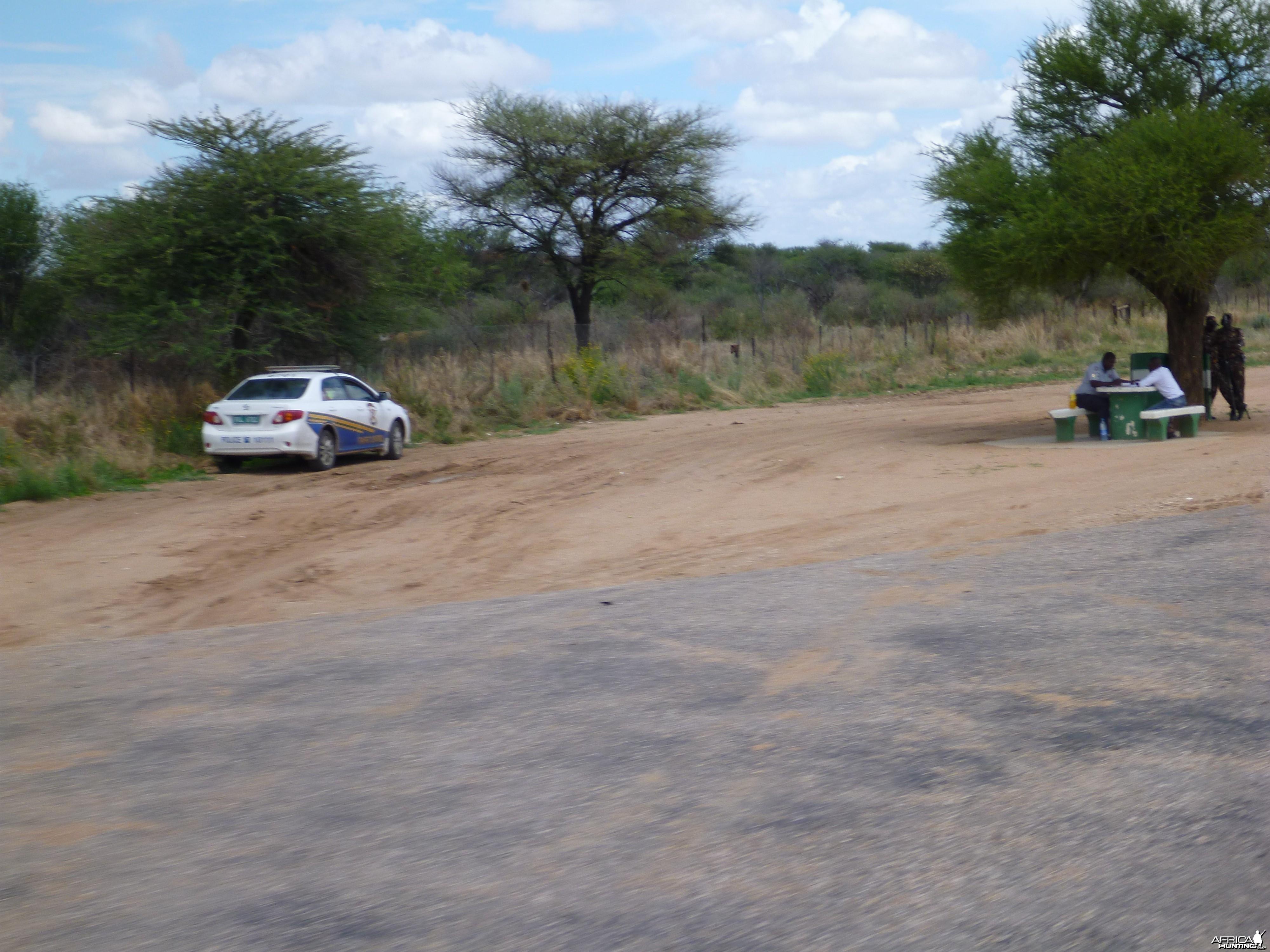 Speed Trap Namibia