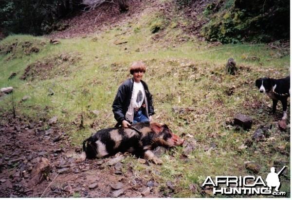deena's first pig