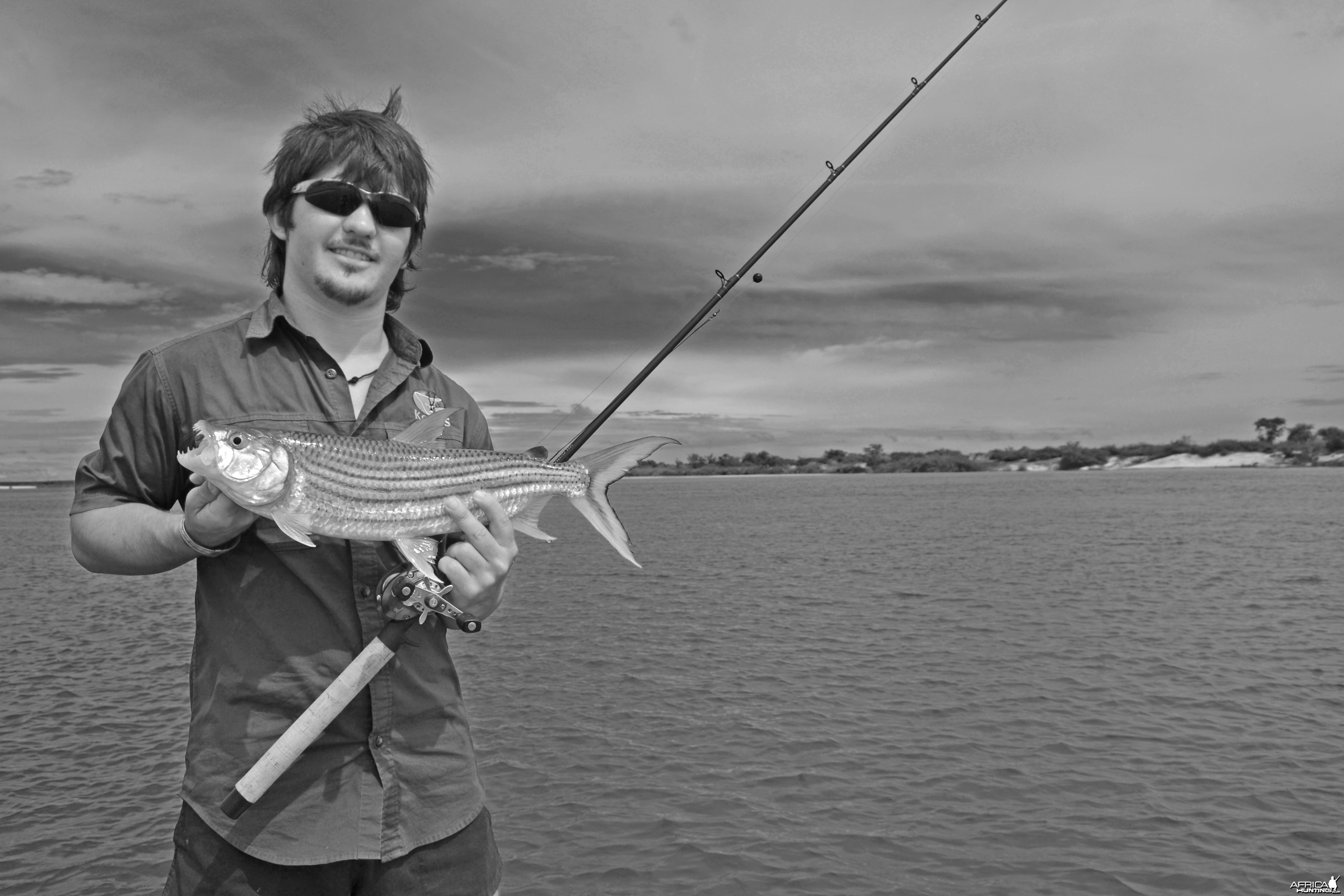 Fishing in Namibia - Caprivi