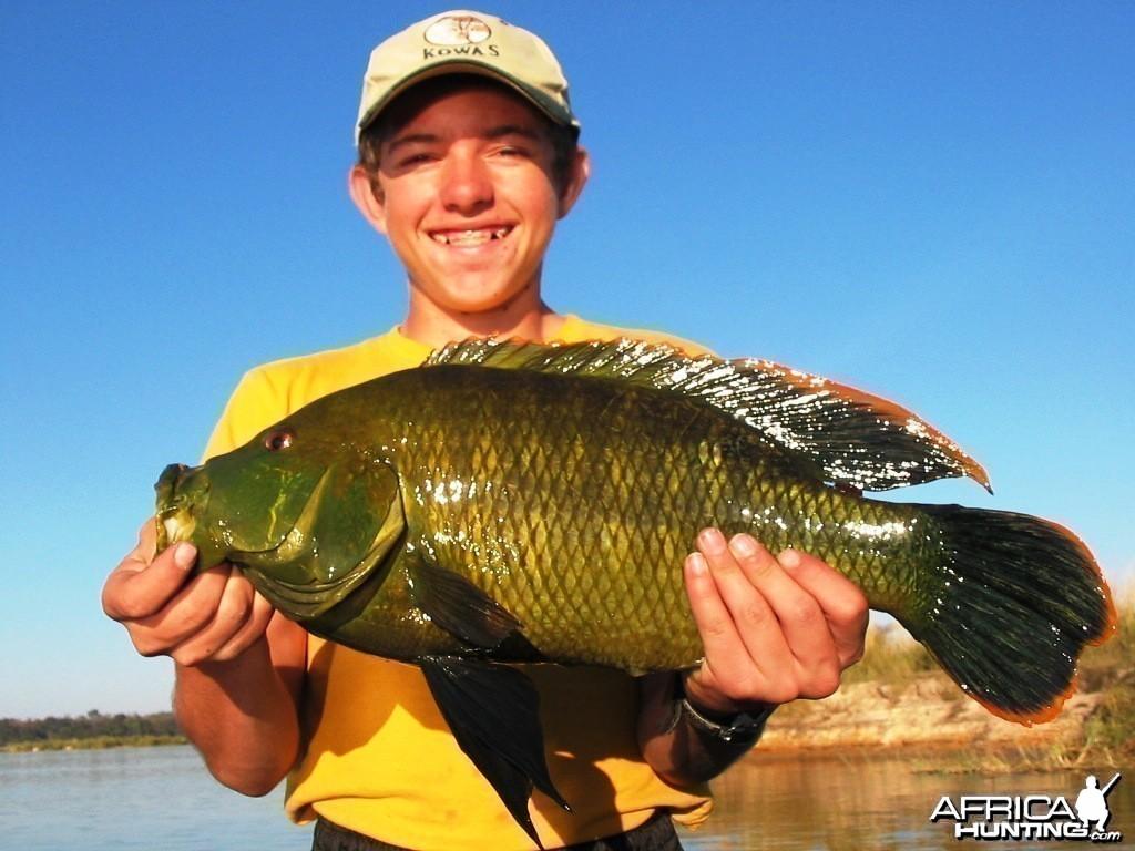 Fishing in Namibia - Caprivi