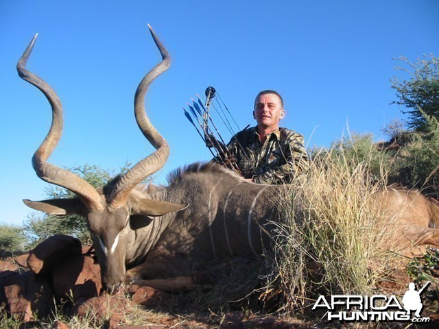 Bowhunting in Namibia