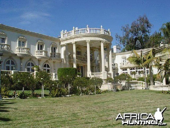 Mugabe Mansion in Zimbabwe