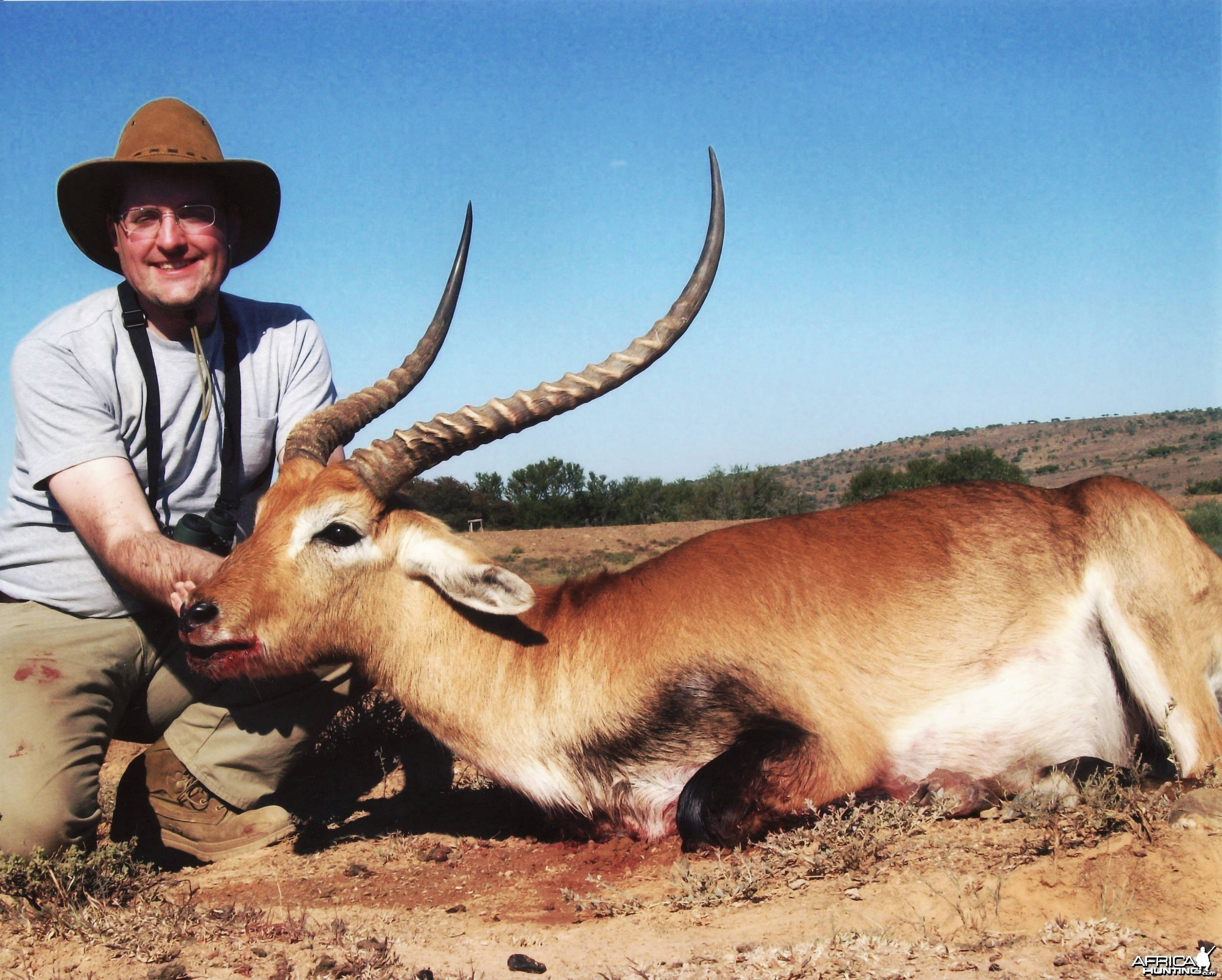 Russ Field Safaris - Red Lechwe  (28 1/4 inches long)