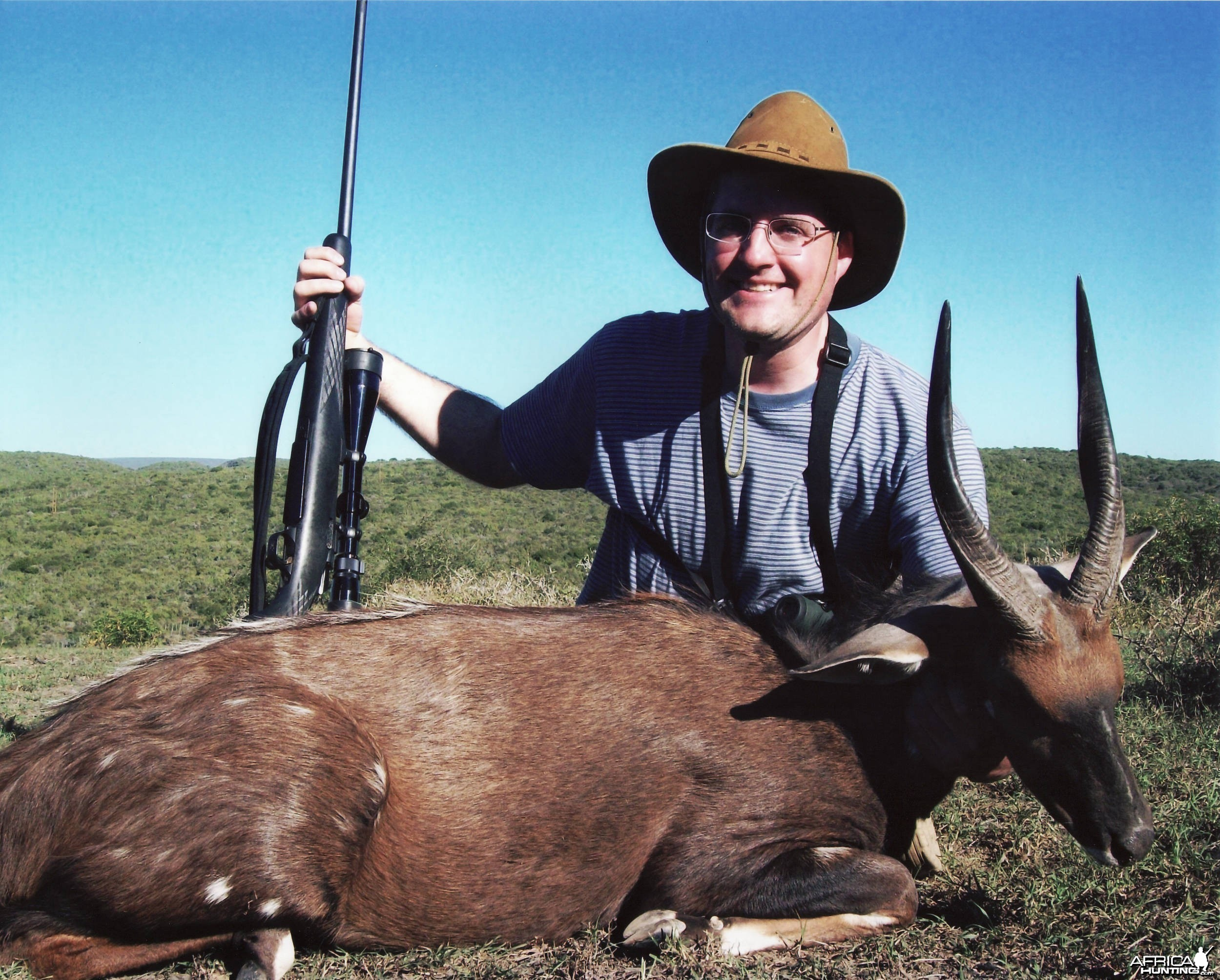 Russ Field Safari - Bushbuck (12-13 inches long)