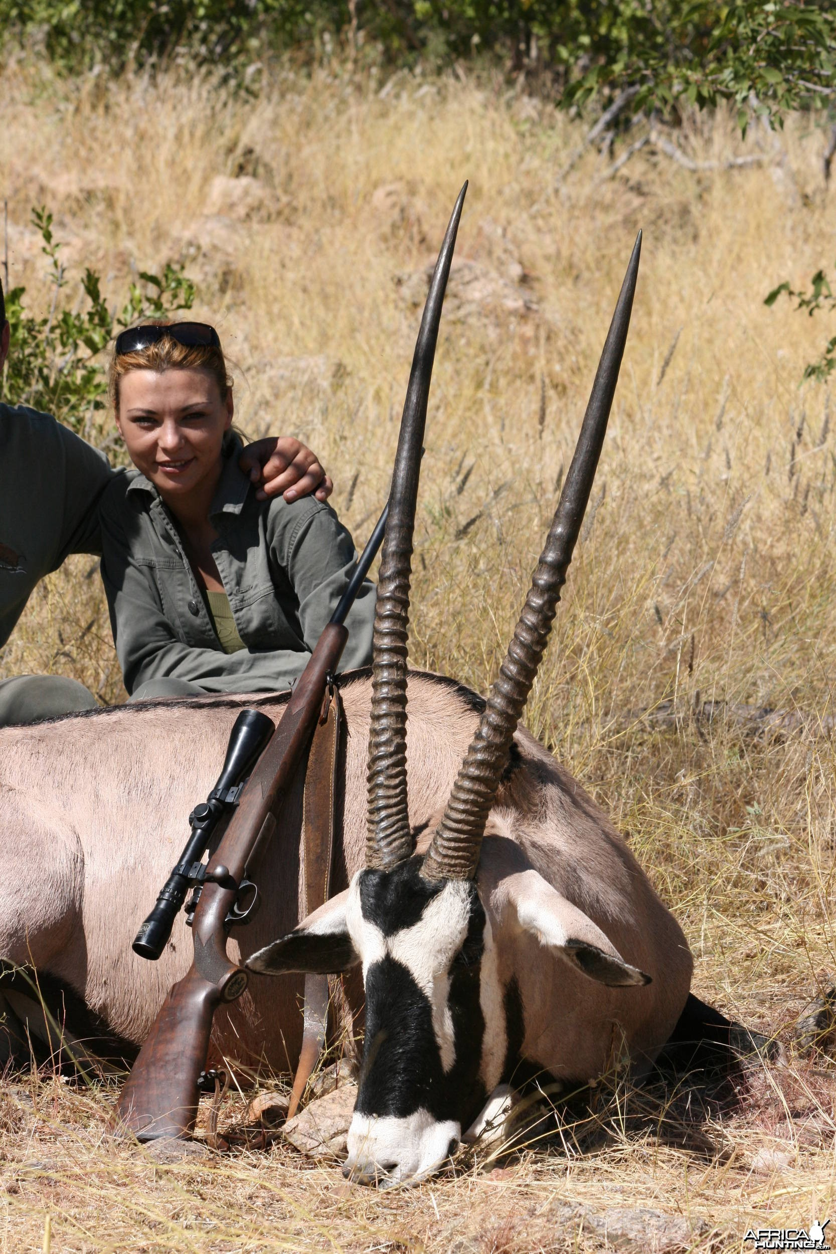 Hunting Gemsbok