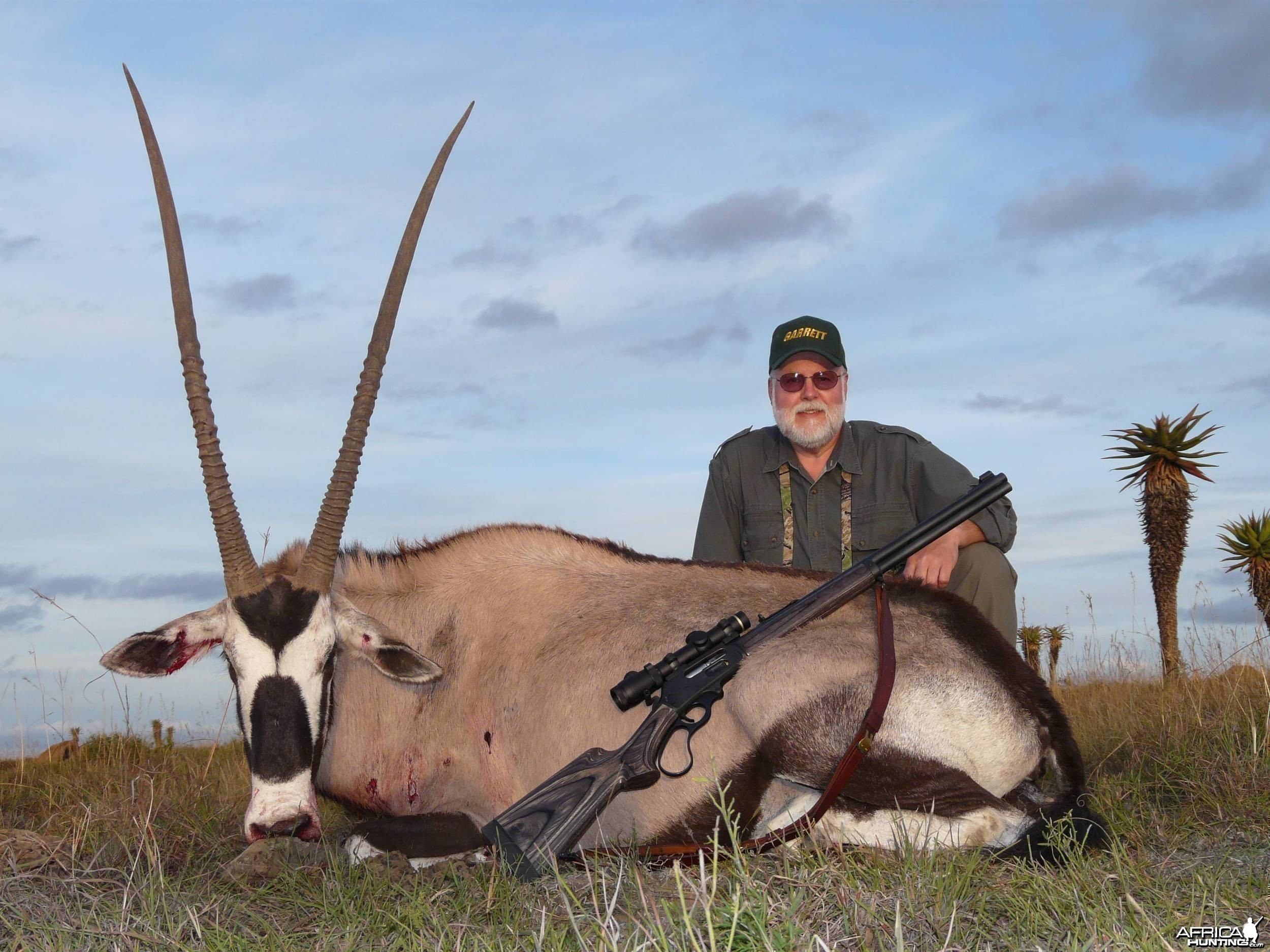 Tremendous Gemsbok to take home.