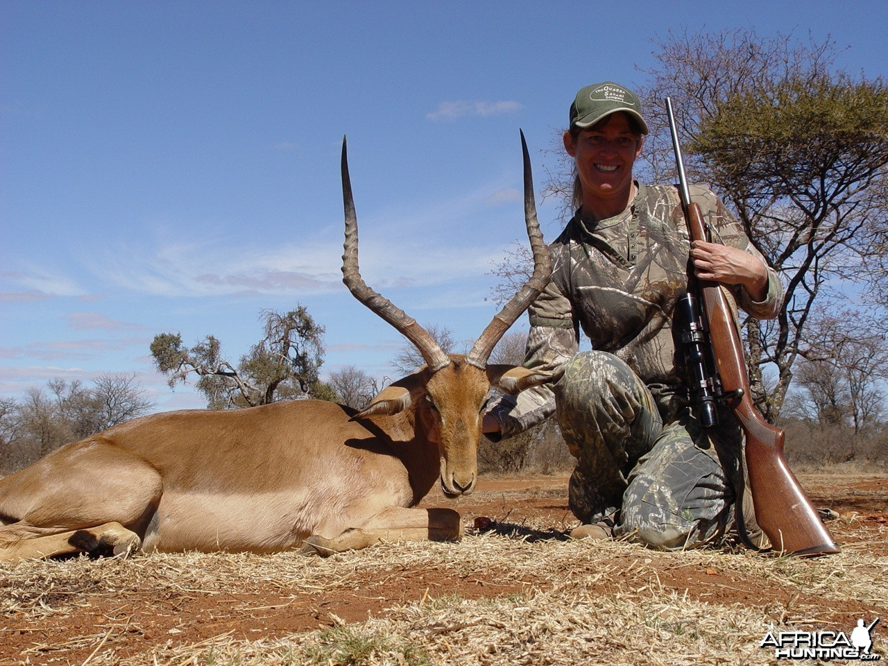 Lisa's Impala Ram with Limcroma Safaris 2009