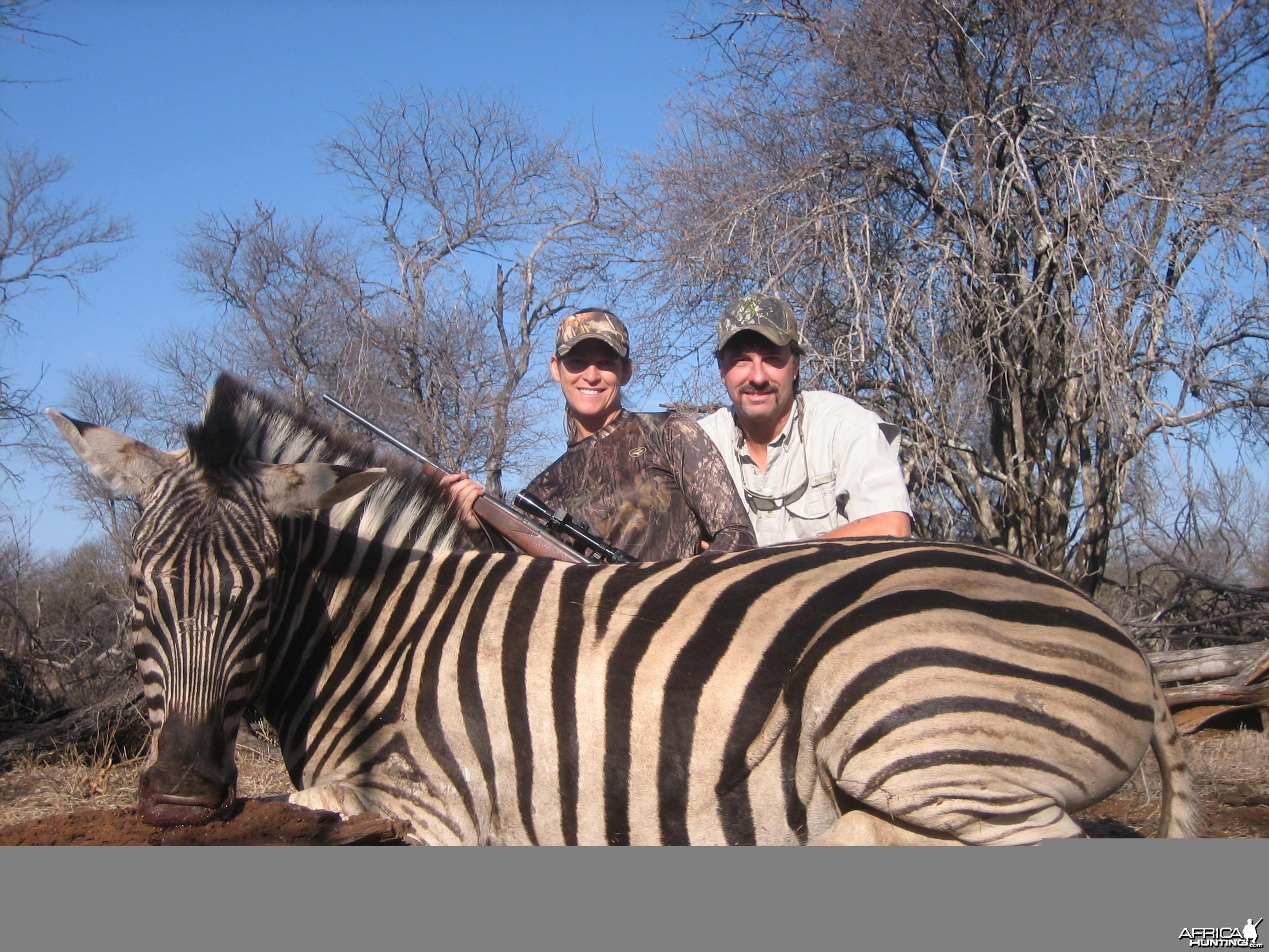 Lisa's Zebra. Limcroma Safaris 2009